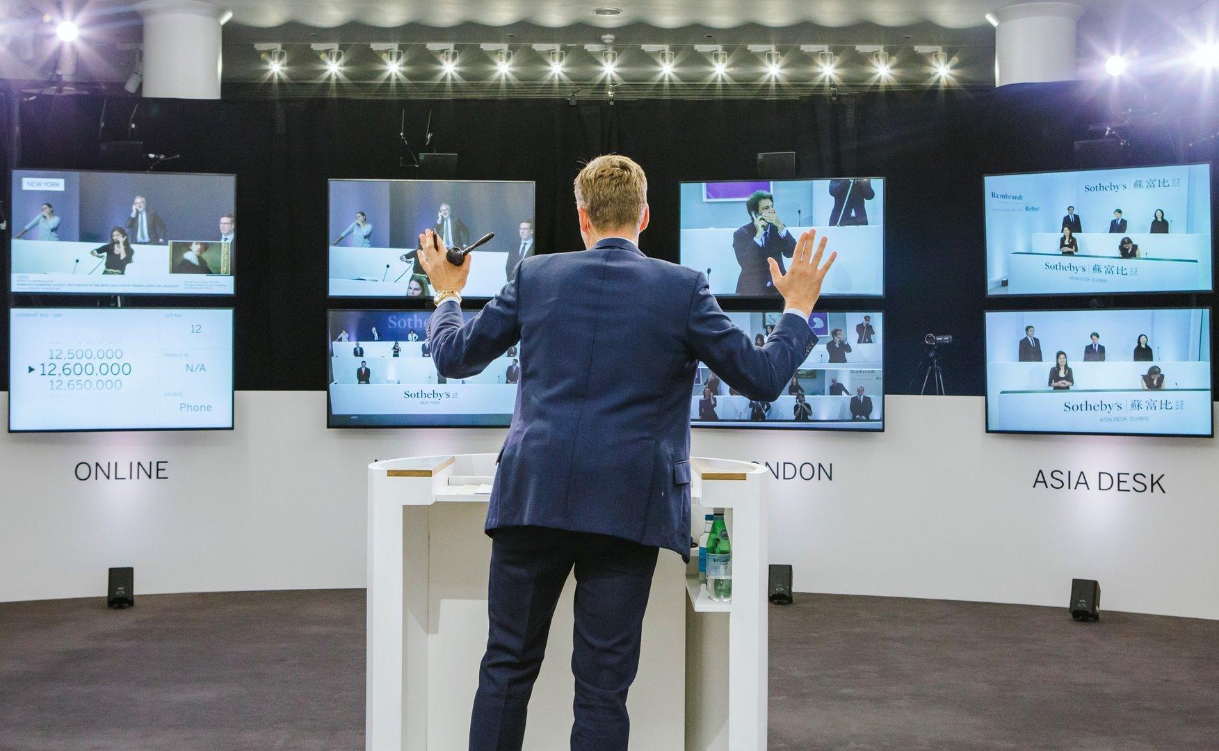 Kunstmarkt: Sotheby's meldet 2,5 Milliarden US-$ Umsatz