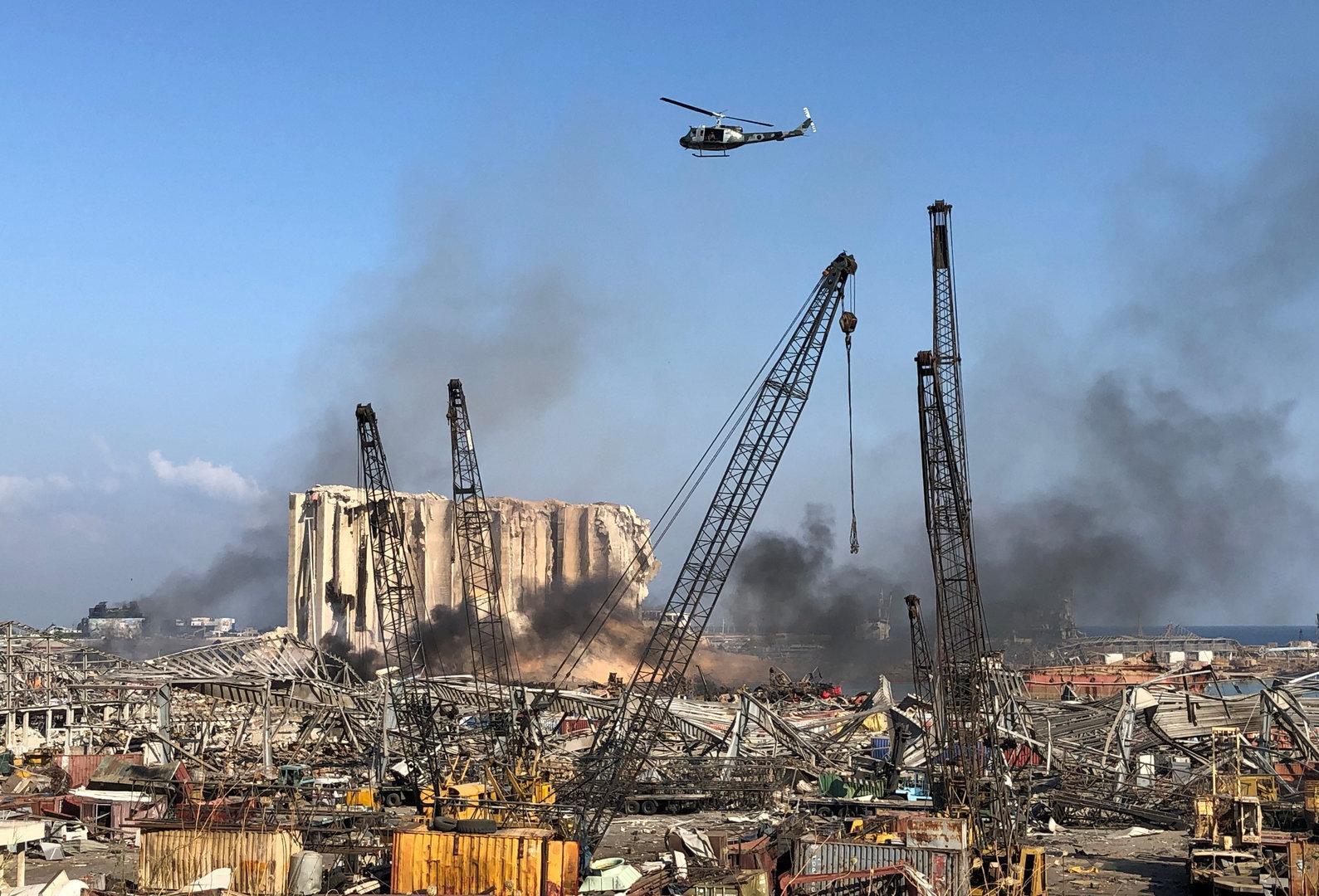 Explosion in Beirut: Österreich stell eine Mio. Euro zur Verfügung