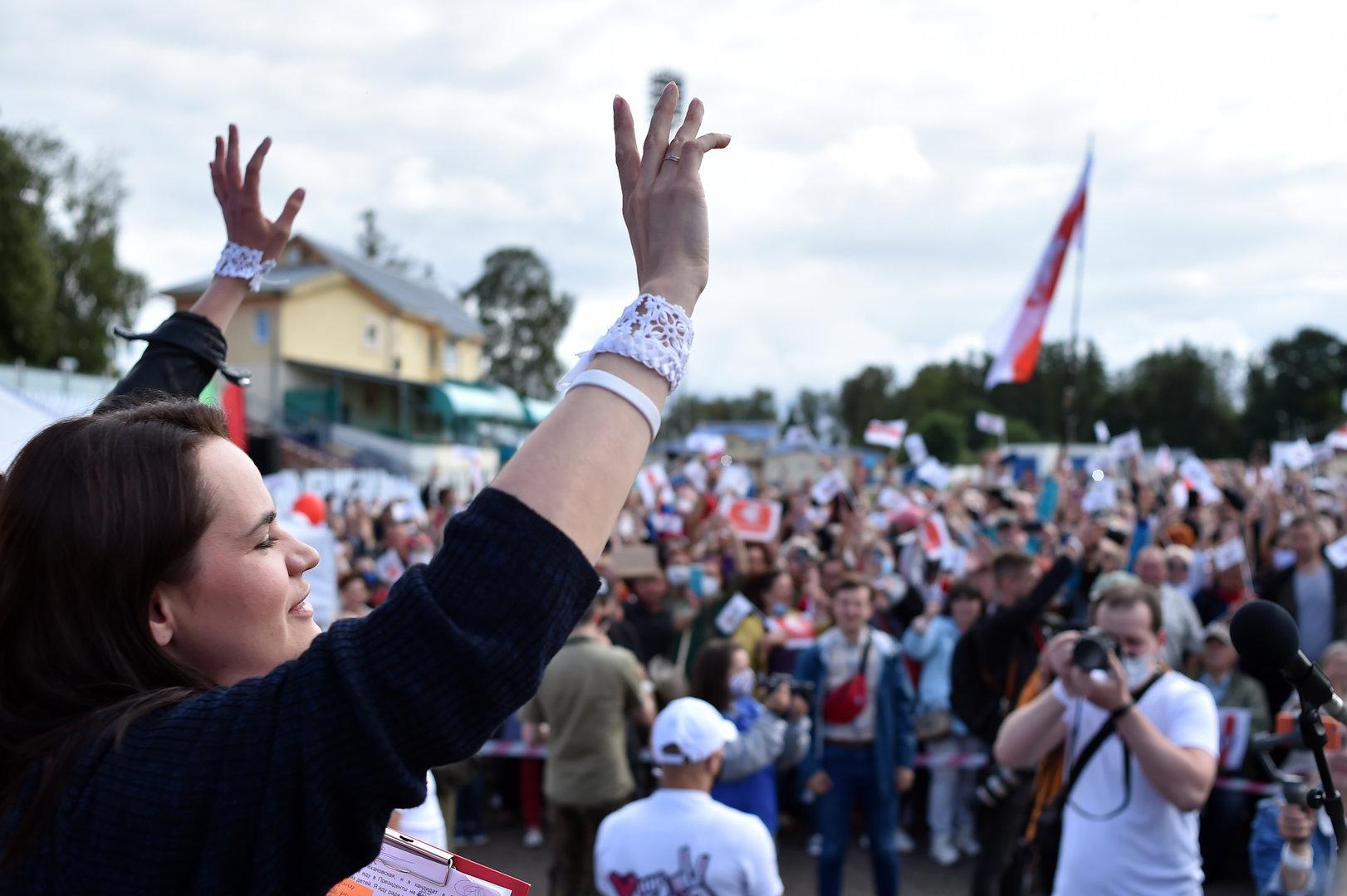 Wahl in Belarus: Ein Hauch von Revolution weht durch Minsk