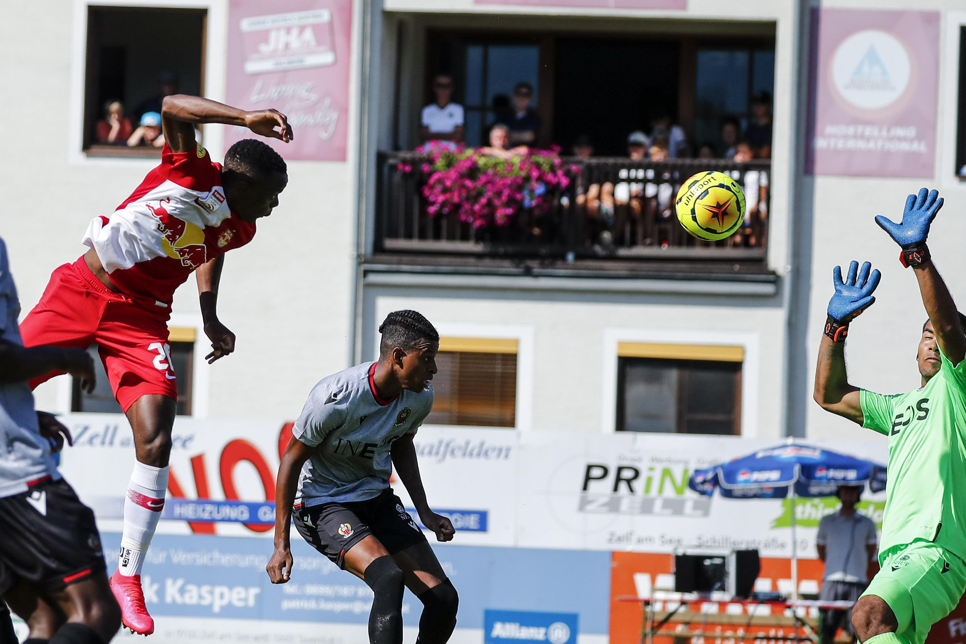 Klarer Salzburg-Sieg gegen Nizza zum Trainingslager-Abschluss