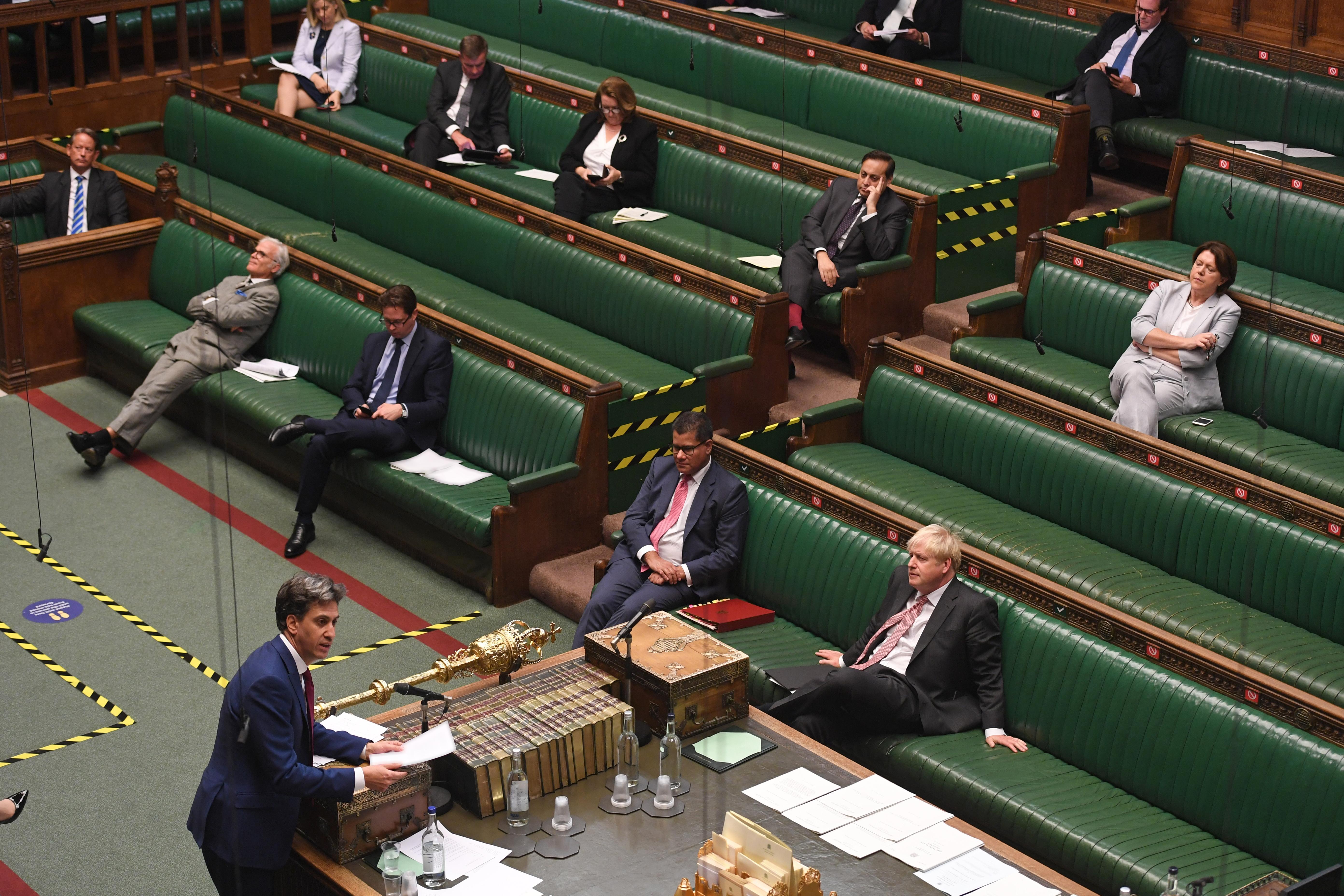 Internal Markets Bill debate