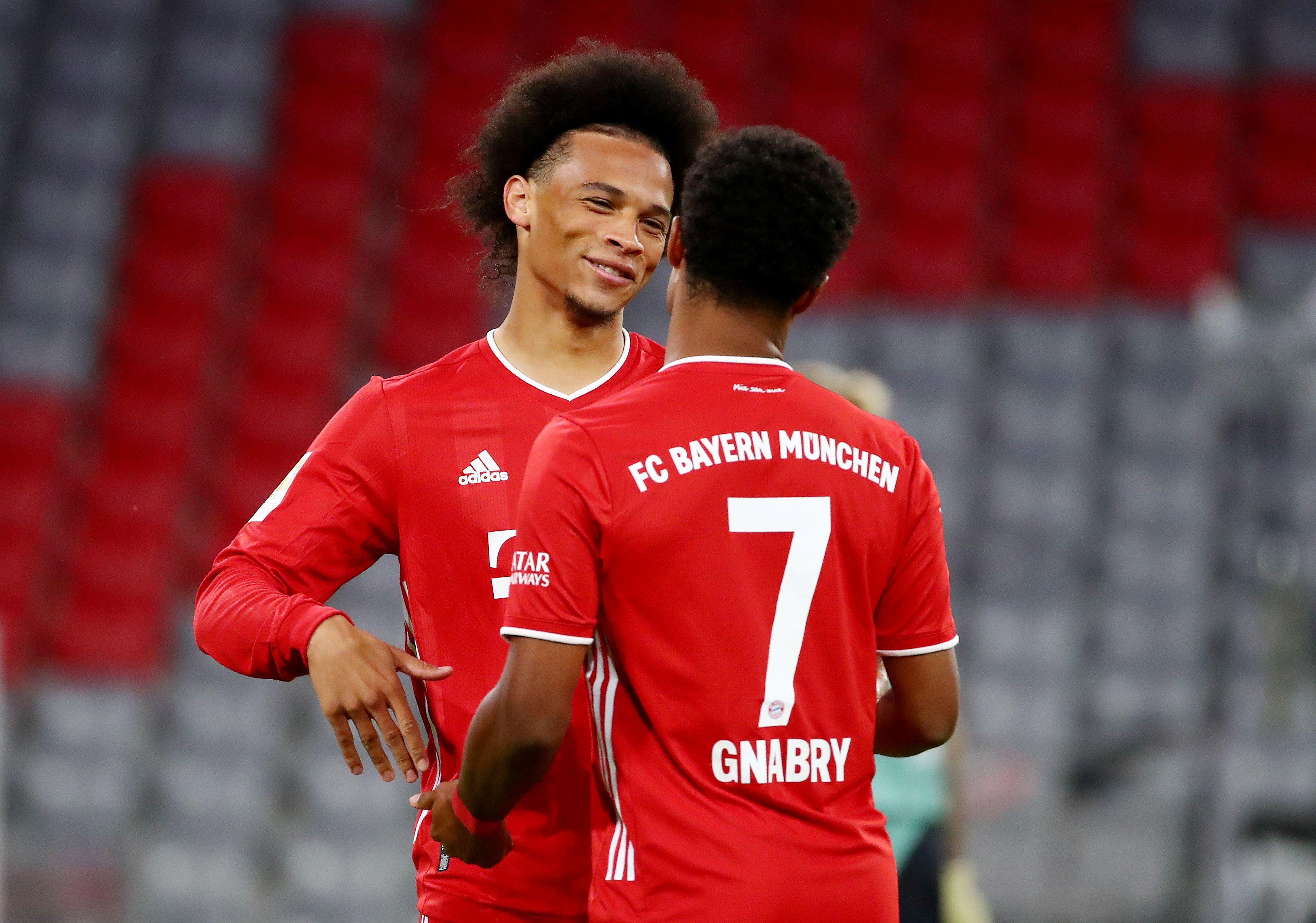 Nach Bayerns Torgala: Sané und Gnabry als neues Traumpaar