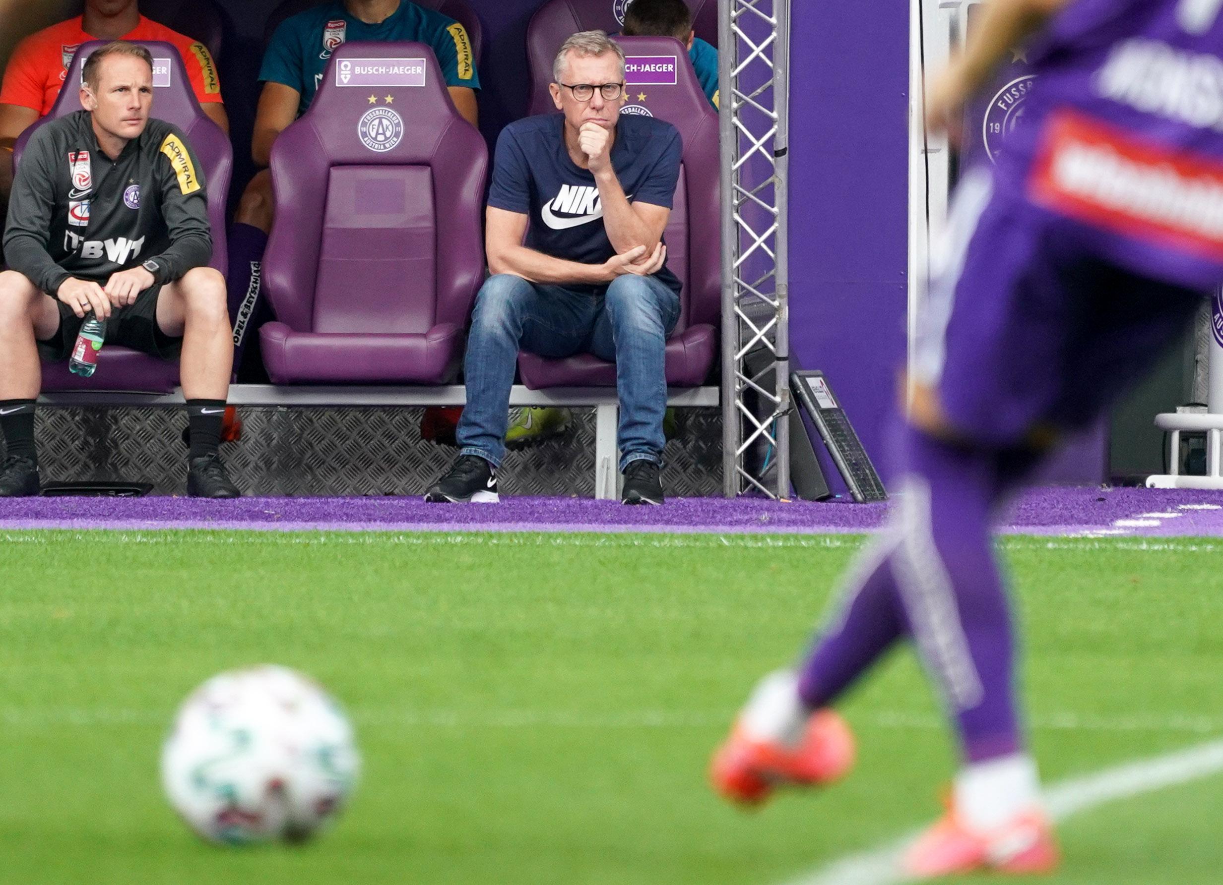 Bundesliga live: So steht es bei der Austria gegen Ried