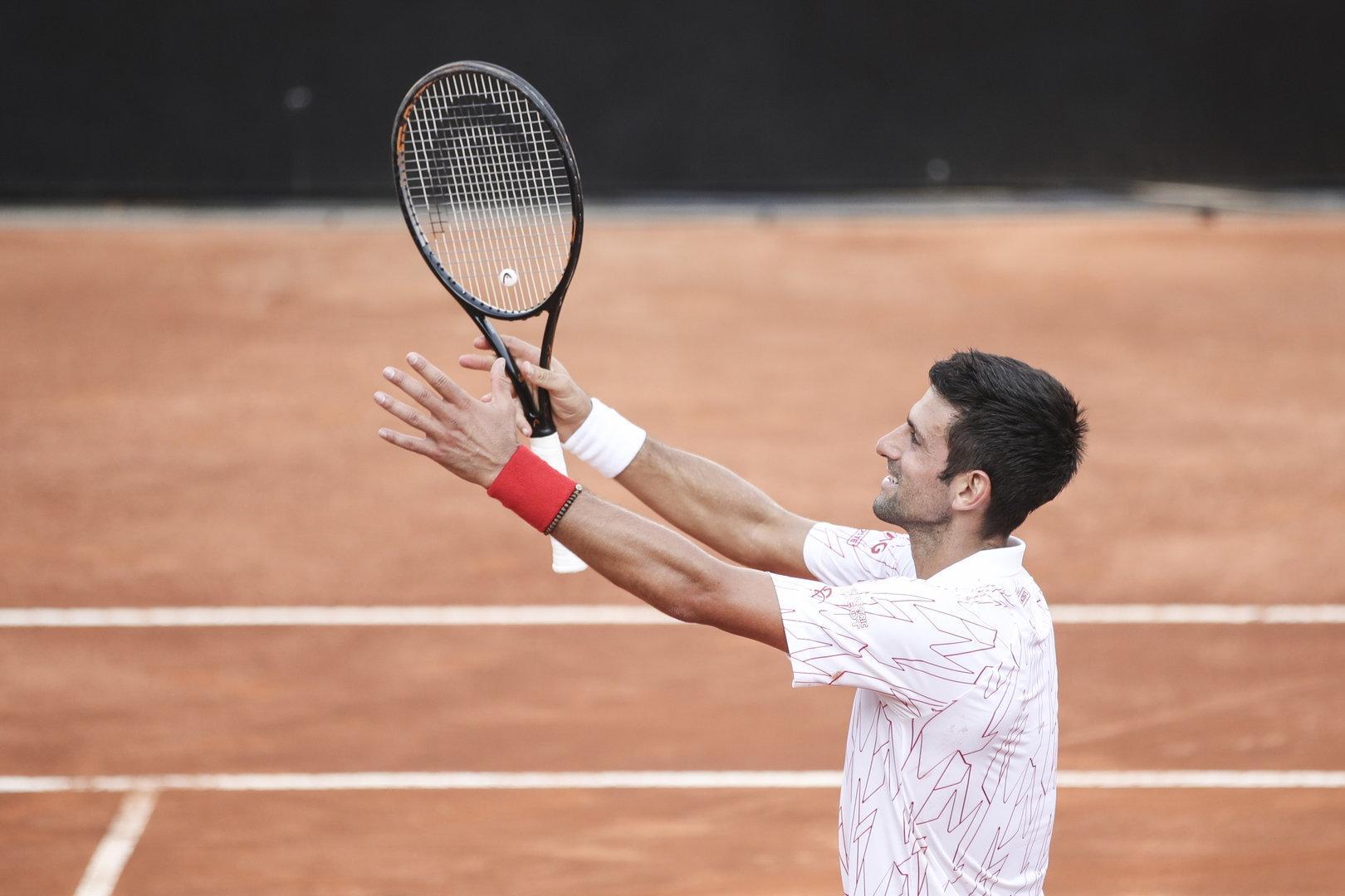 Djokovic gegen Schwartzmann um den Titel in Rom