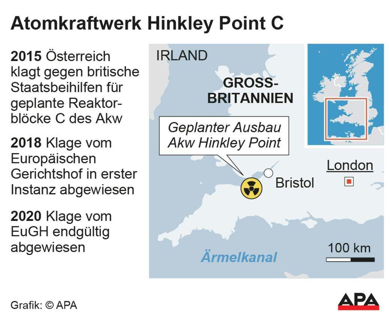 """EuGH zu AKW Hinkley Point: Für Gewessler """"ernüchterndes Ergebnis"""""""