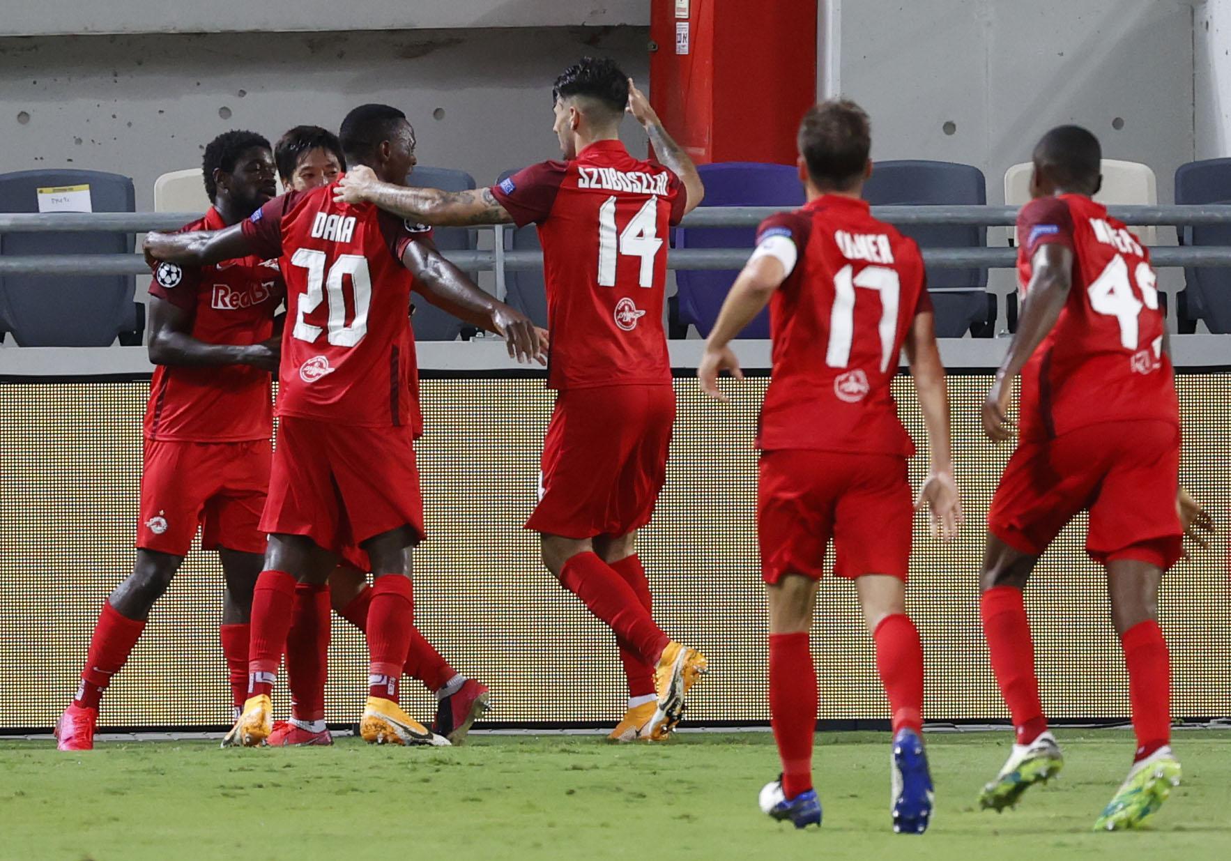 CL-Play-off: Salzburg mit Mühe zum Pflichtsieg in Tel Aviv