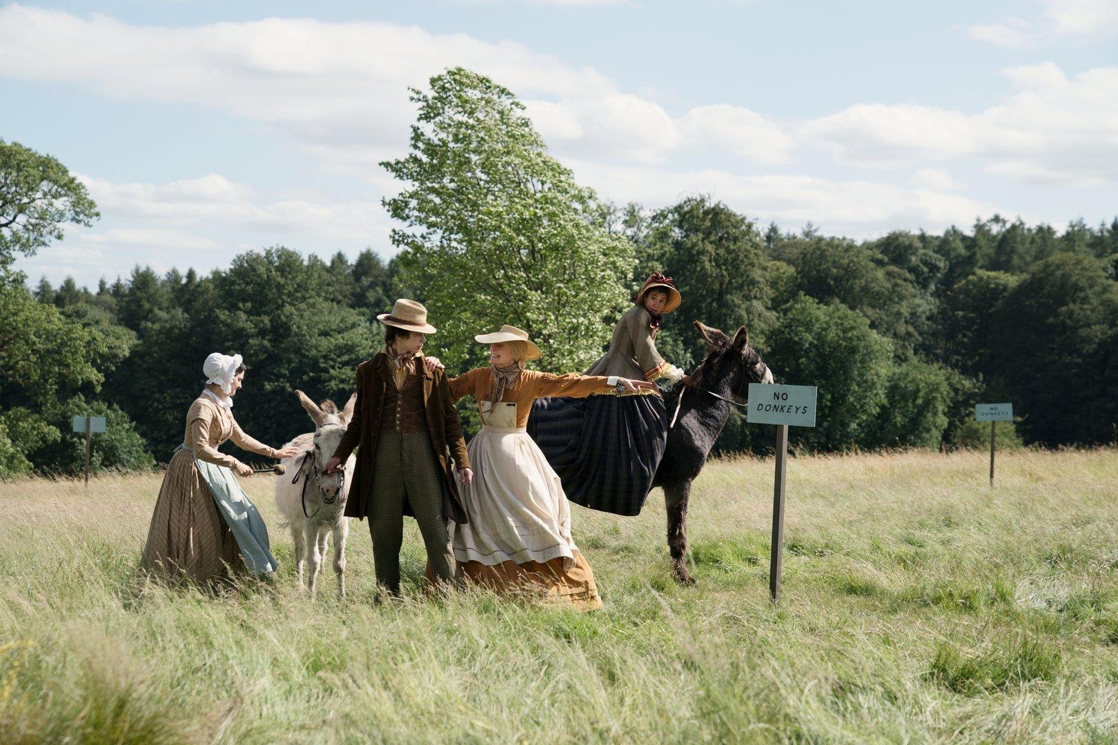 Verfilmung des Dickens-Klassikers: Happy End mit Esel
