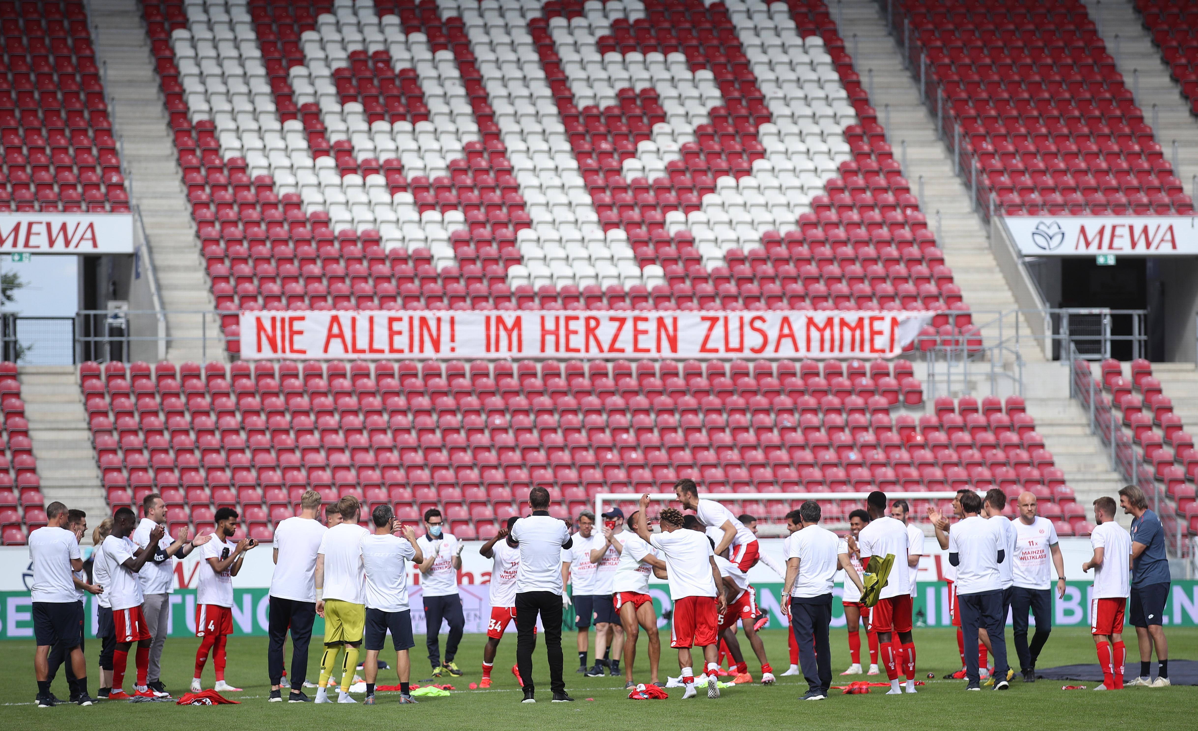 Trainingsbetrieb aufgenommen: Mainzer Spielerstreik beendet