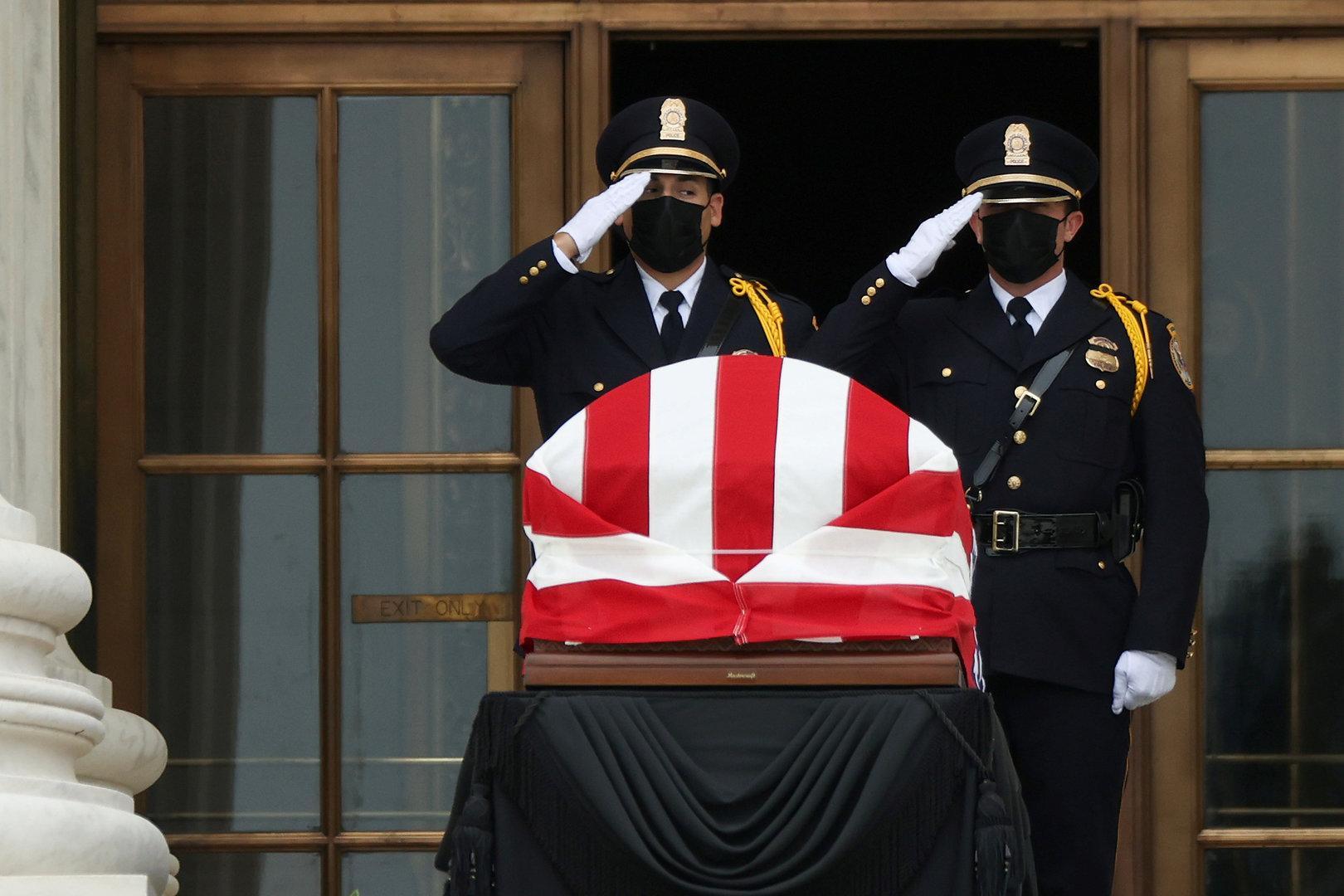 Verstorbene US-Richterin Ginsburg wird im Kapitol aufgebahrt