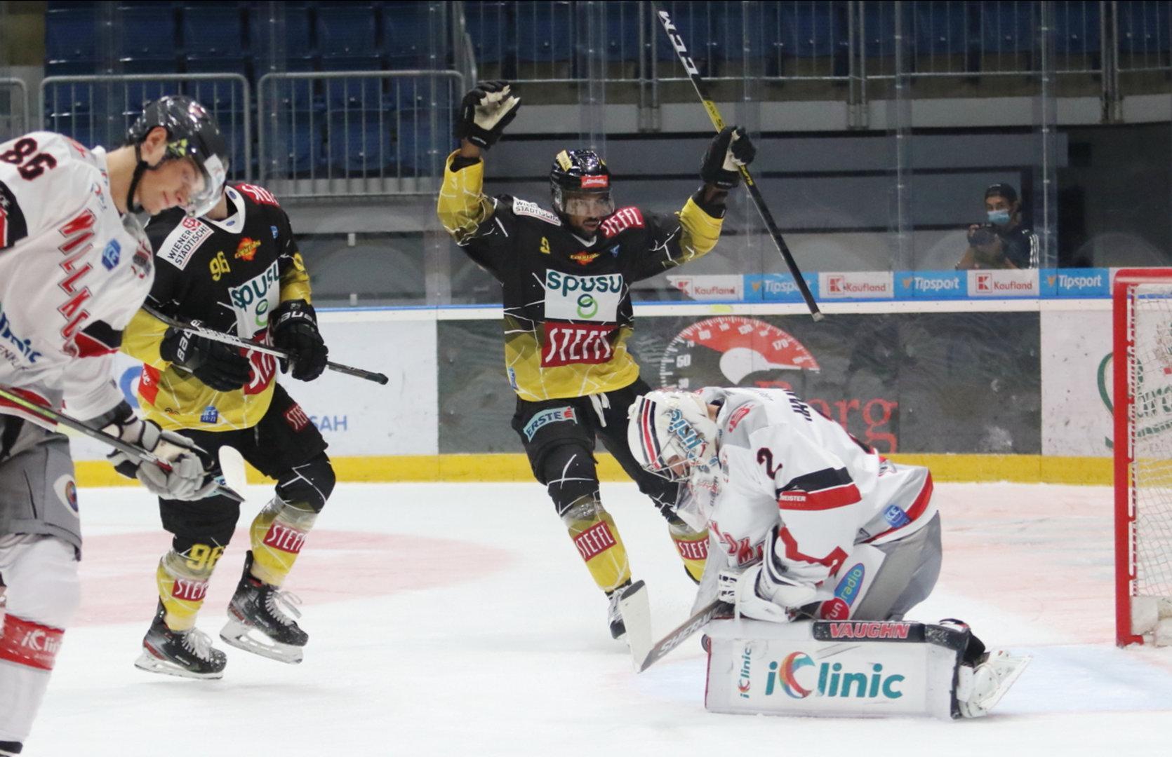 Eishockey: Saisonstart nach Maß für die Vienna Capitals