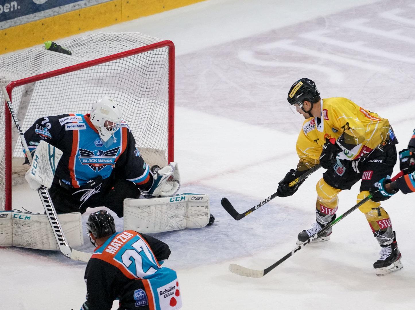 Eishockey: In Linz gab's für die Capitals nichts zu holen