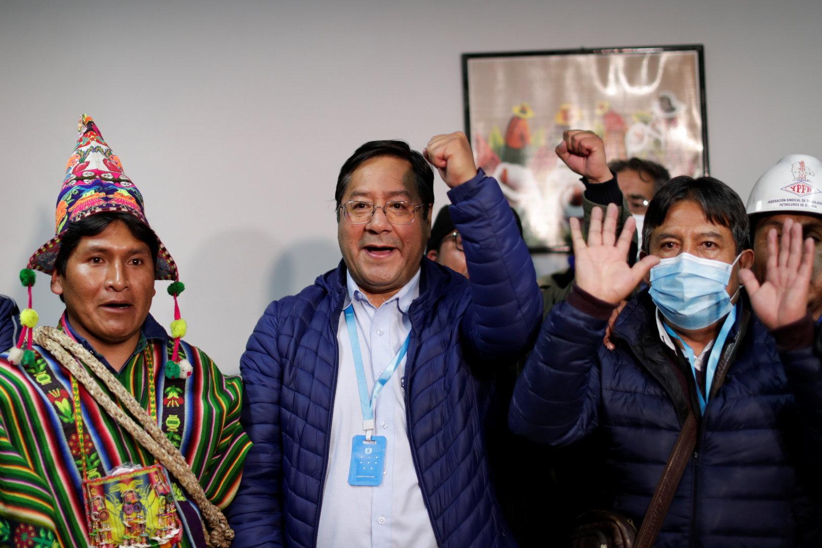 TV: Linksgerichteter Arce bei Präsidentschaftswahl in Bolivien vorne