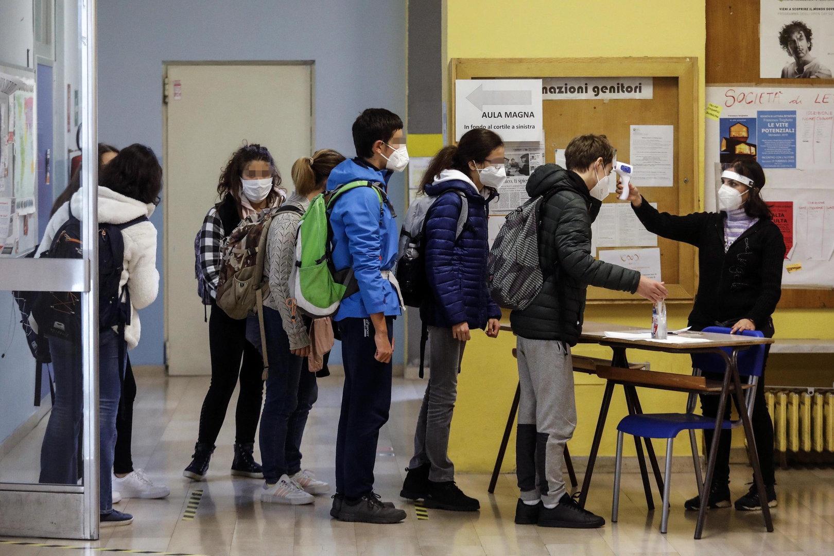 In Italien geht die Angst vor einem Lockdown zum Jahreswechsel um
