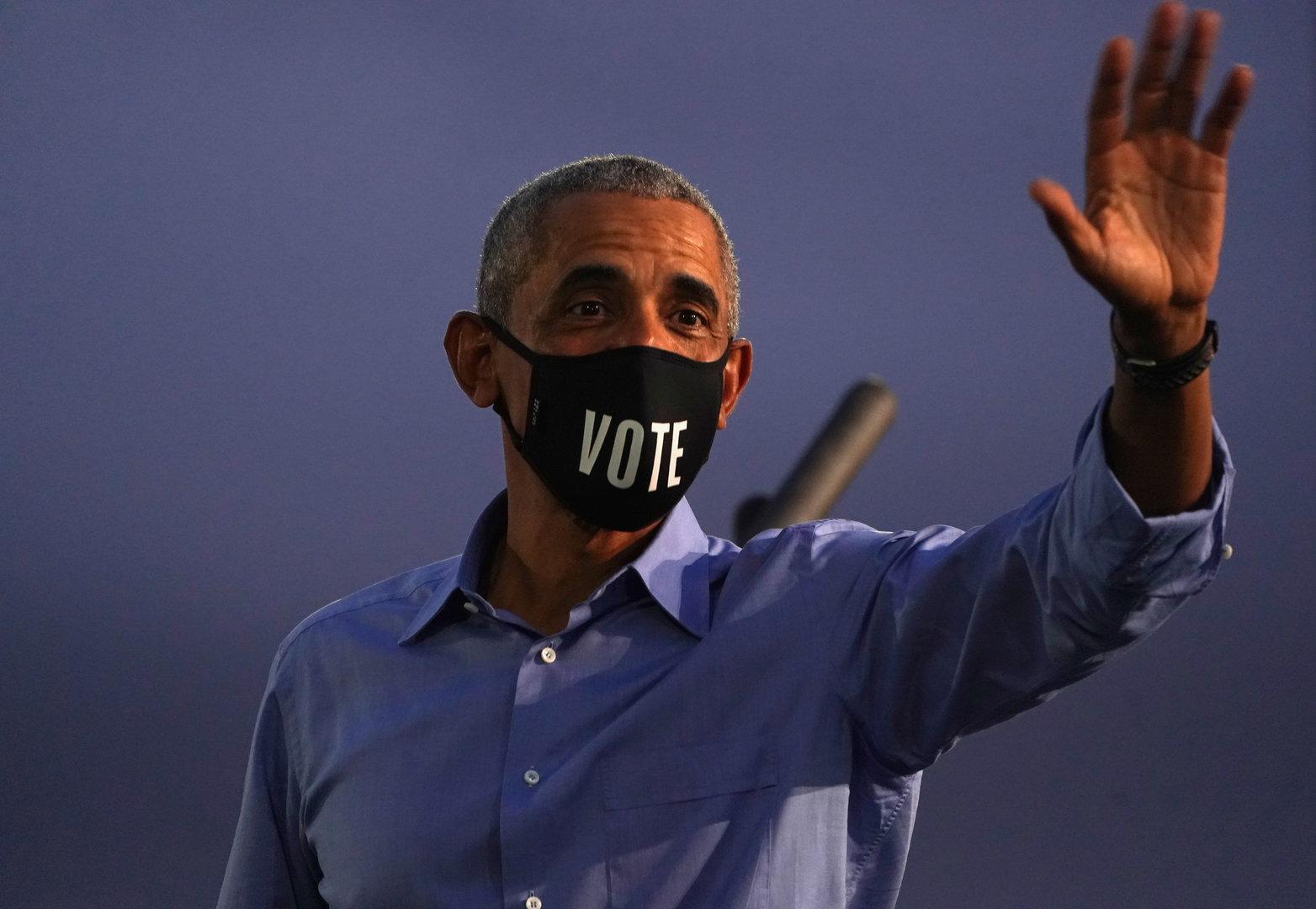 """Der Wahlkämpfer Obama ist zurück: """"Trump kann uns nicht beschützen"""""""