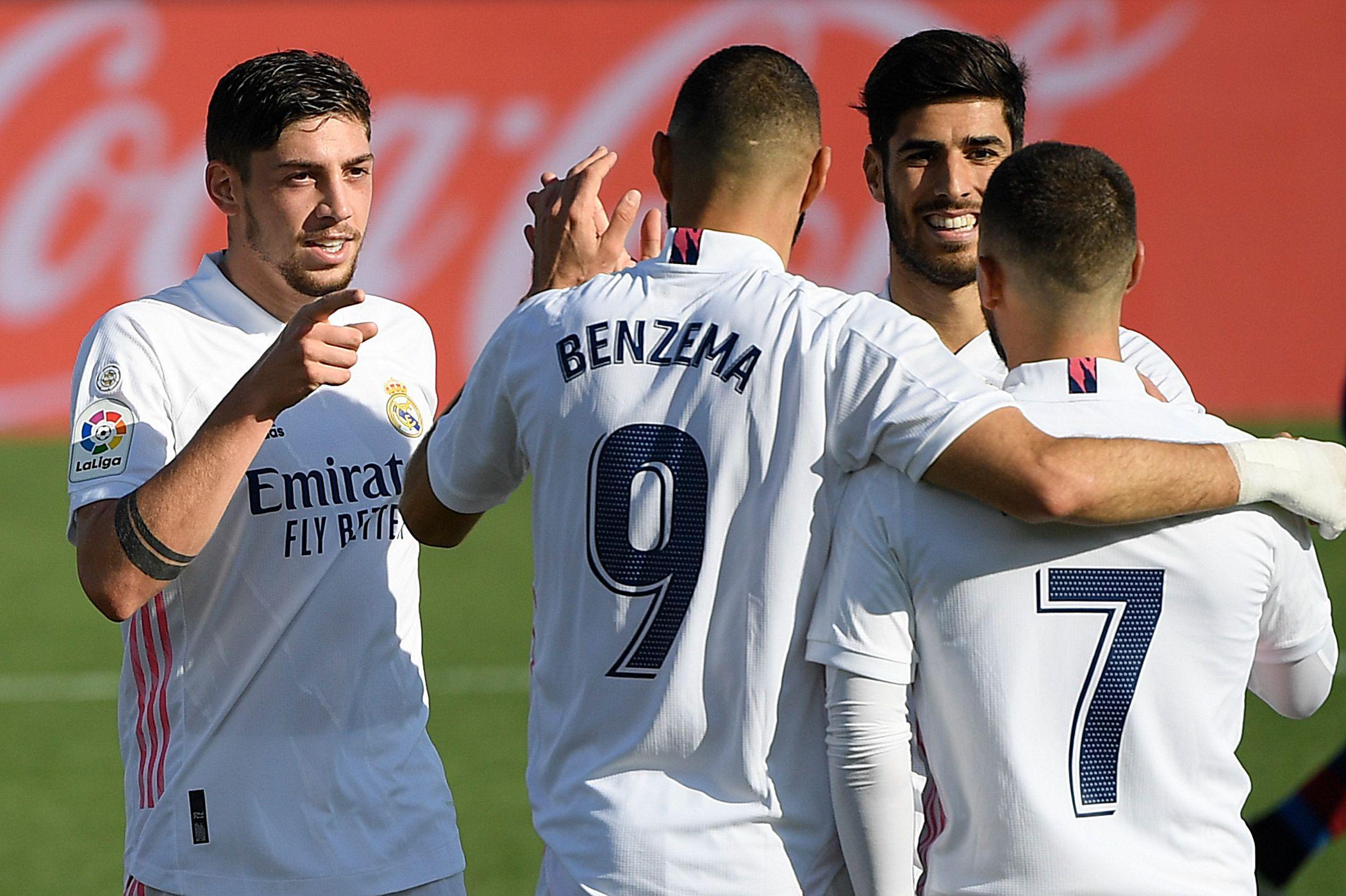 Pflichtsieg gegen Aufsteiger: Real Madrid vorerst Tabellenführer