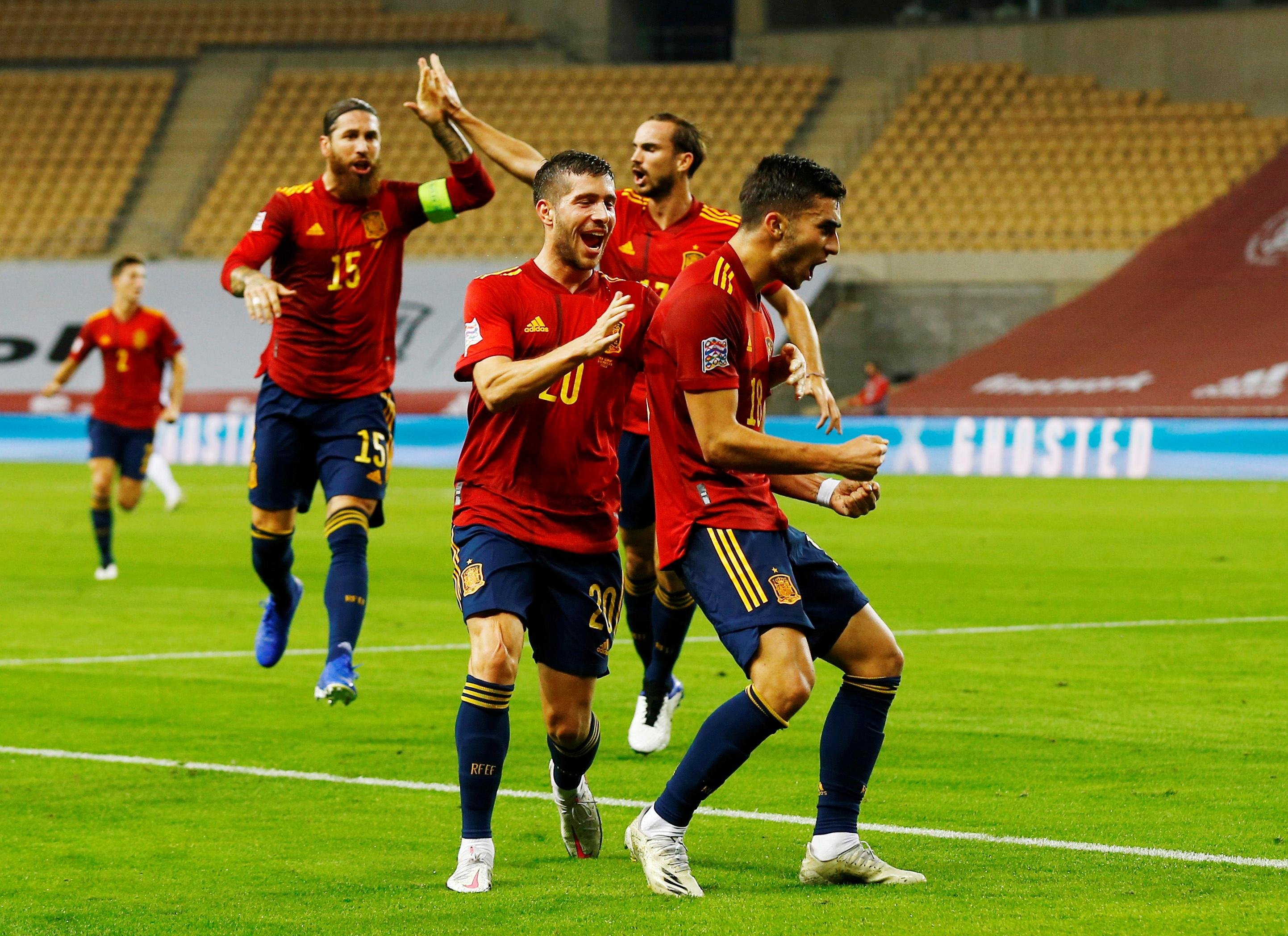 UEFA Nations League - Group D - Spain v Germany