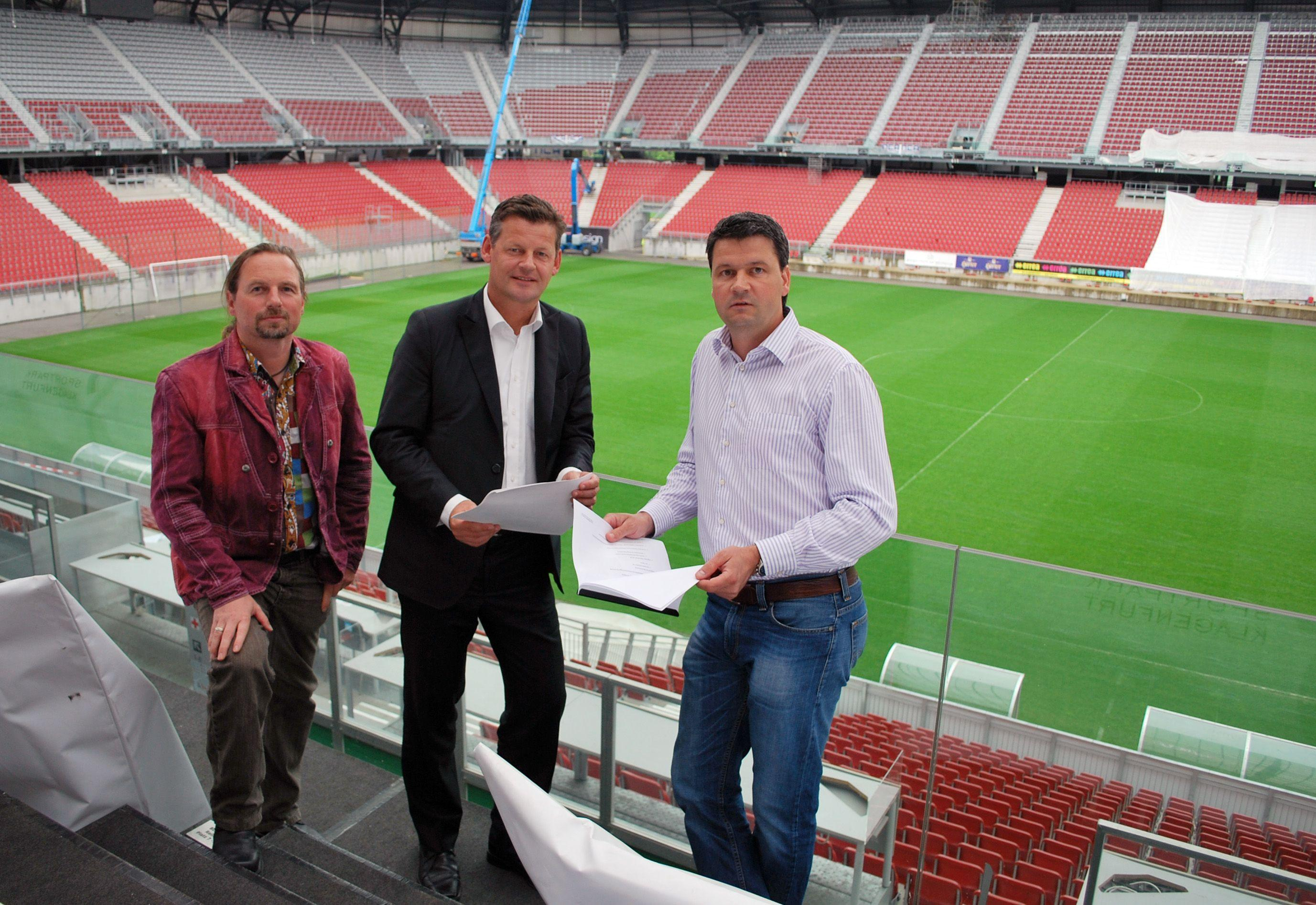 Klagenfurter Stadionmacher Gert Unterköfler an Corona gestorben