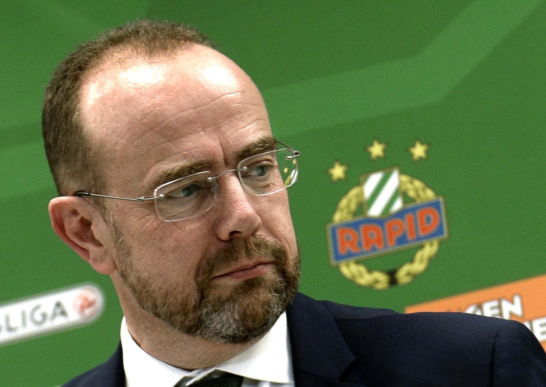 """Rapid-Präsident Martin Bruckner: """"Wir werden die Ersten sein"""""""