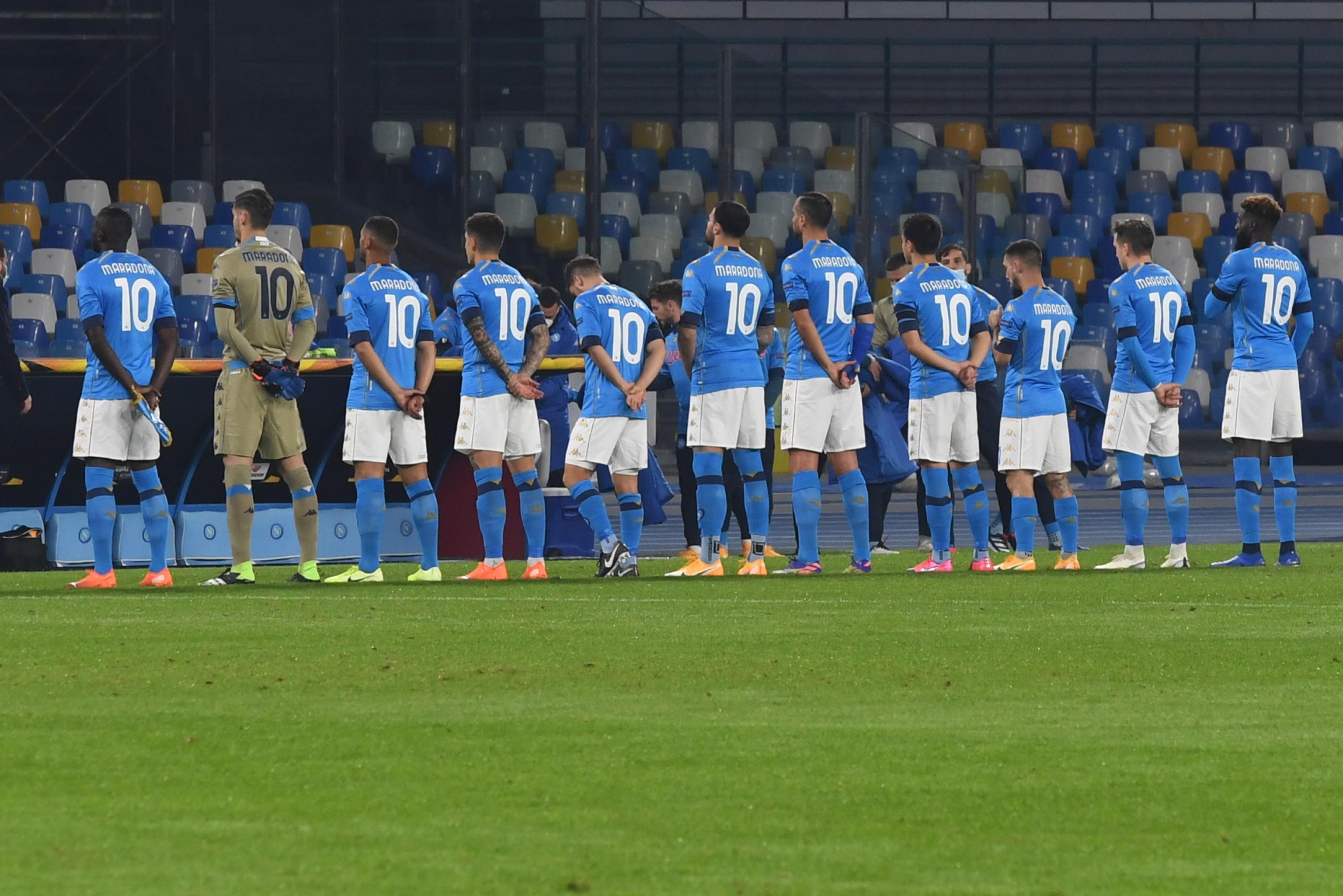 Europa League: Bei SSC Napoli trugen alle die Nummer 10