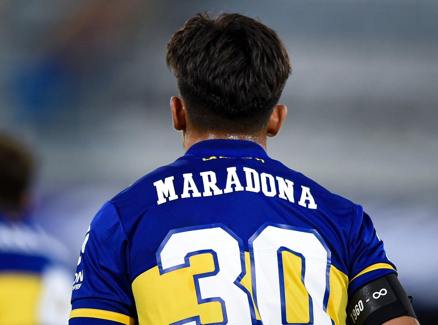 Vor trauernder Tochter: Boca Juniors ehrt Maradona in der Bombonera