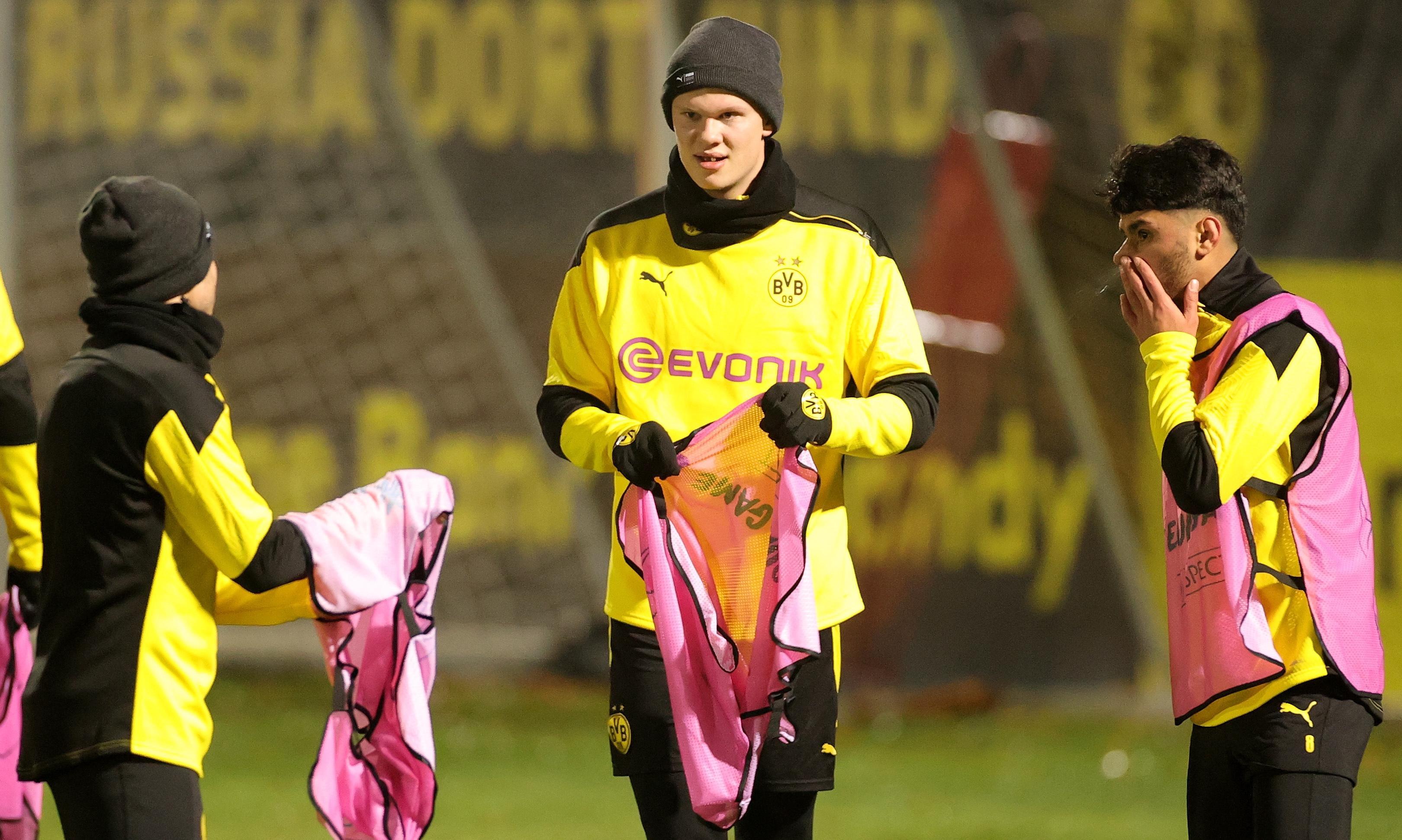 Schock für Dortmund: Shooting-Star Haaland wochenlang out