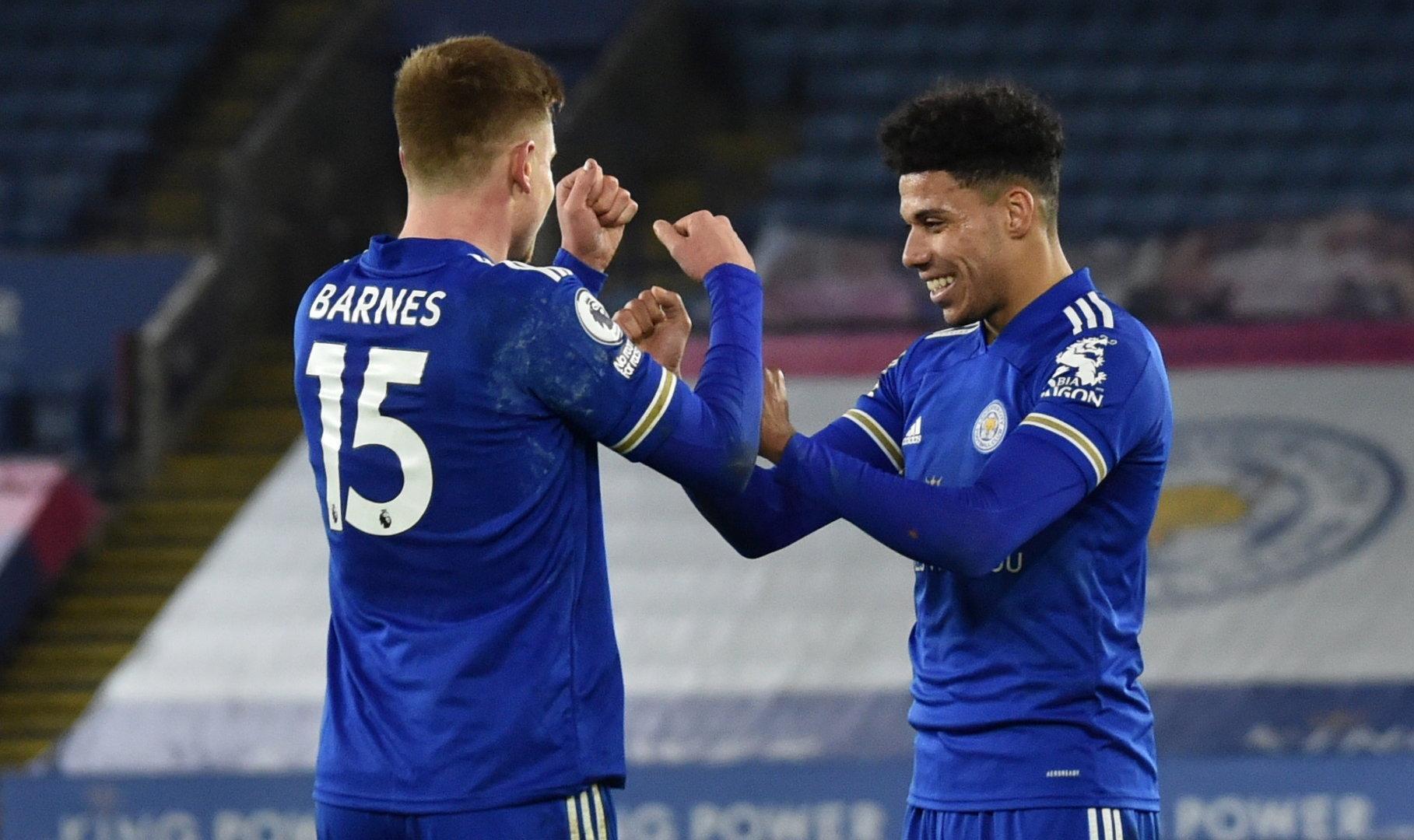 Leicester nach 2:0 gegen Southampton Liga-Zweiter