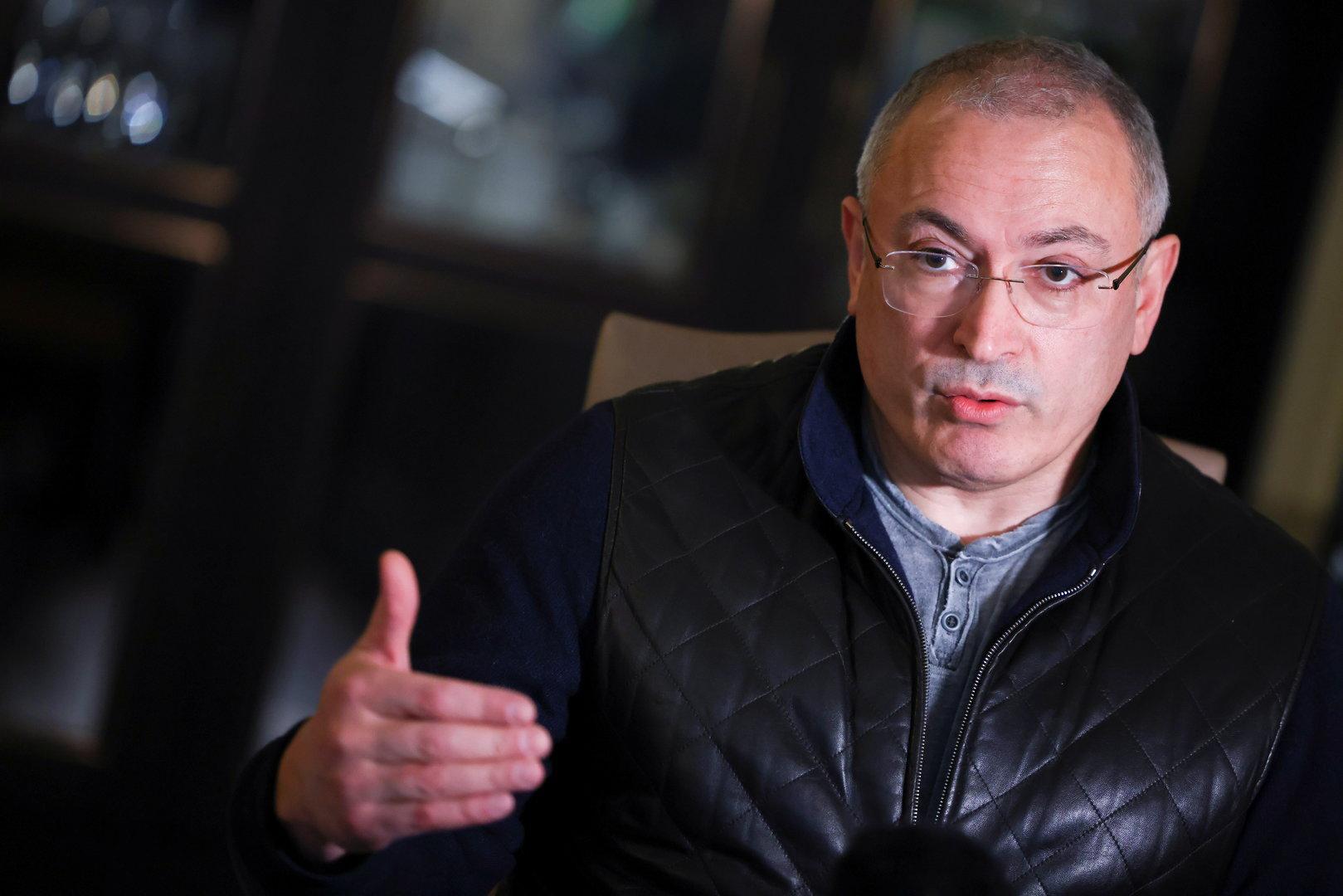 """Chodorkowski zu Fall Nawalny: """"Westen soll handeln, nicht reden"""""""
