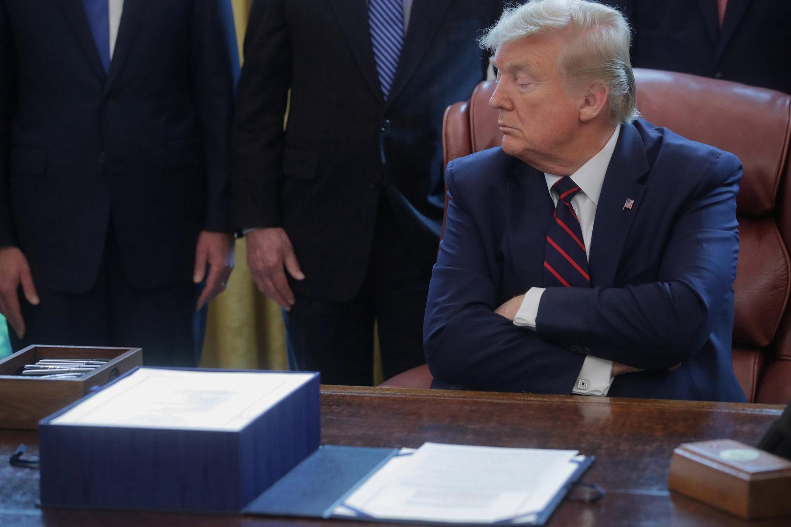 Amtsenthebungsverfahren gegen Trump startet im Februar