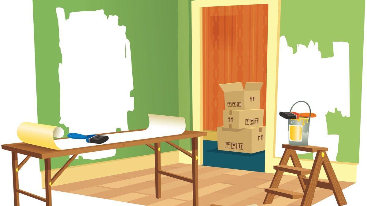 wohnungssanierung so gehen sie dabei richtig vor. Black Bedroom Furniture Sets. Home Design Ideas