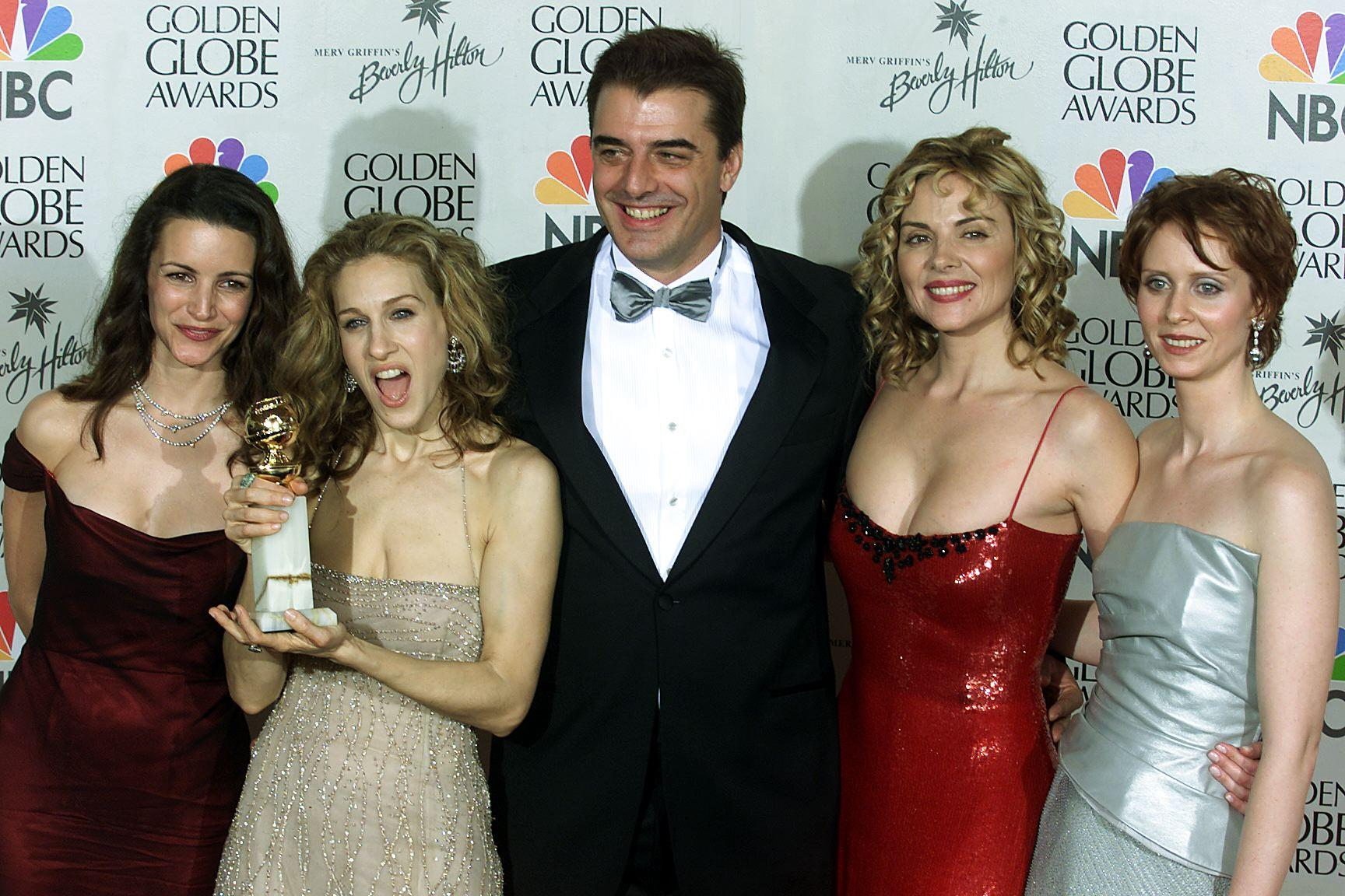 US-GOLDEN GLOBES-SEX AND THE CITY