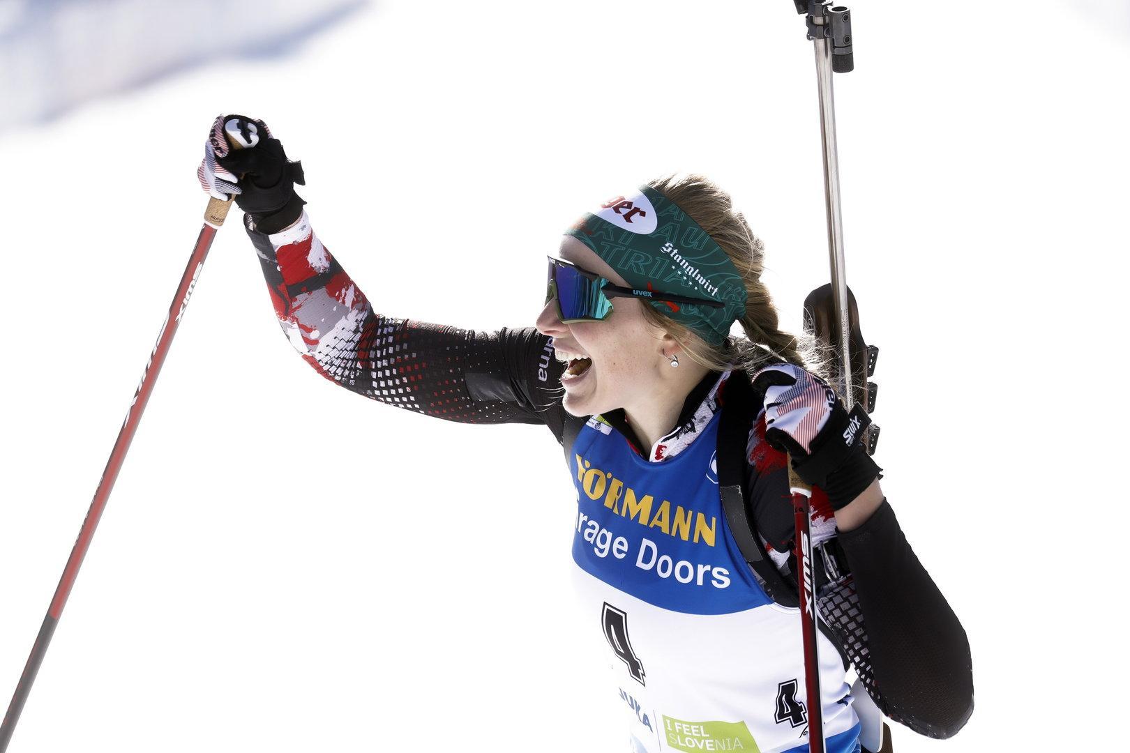 Gold-Sensation im Biathlon: Lisa Hauser schreibt Sportgeschichte