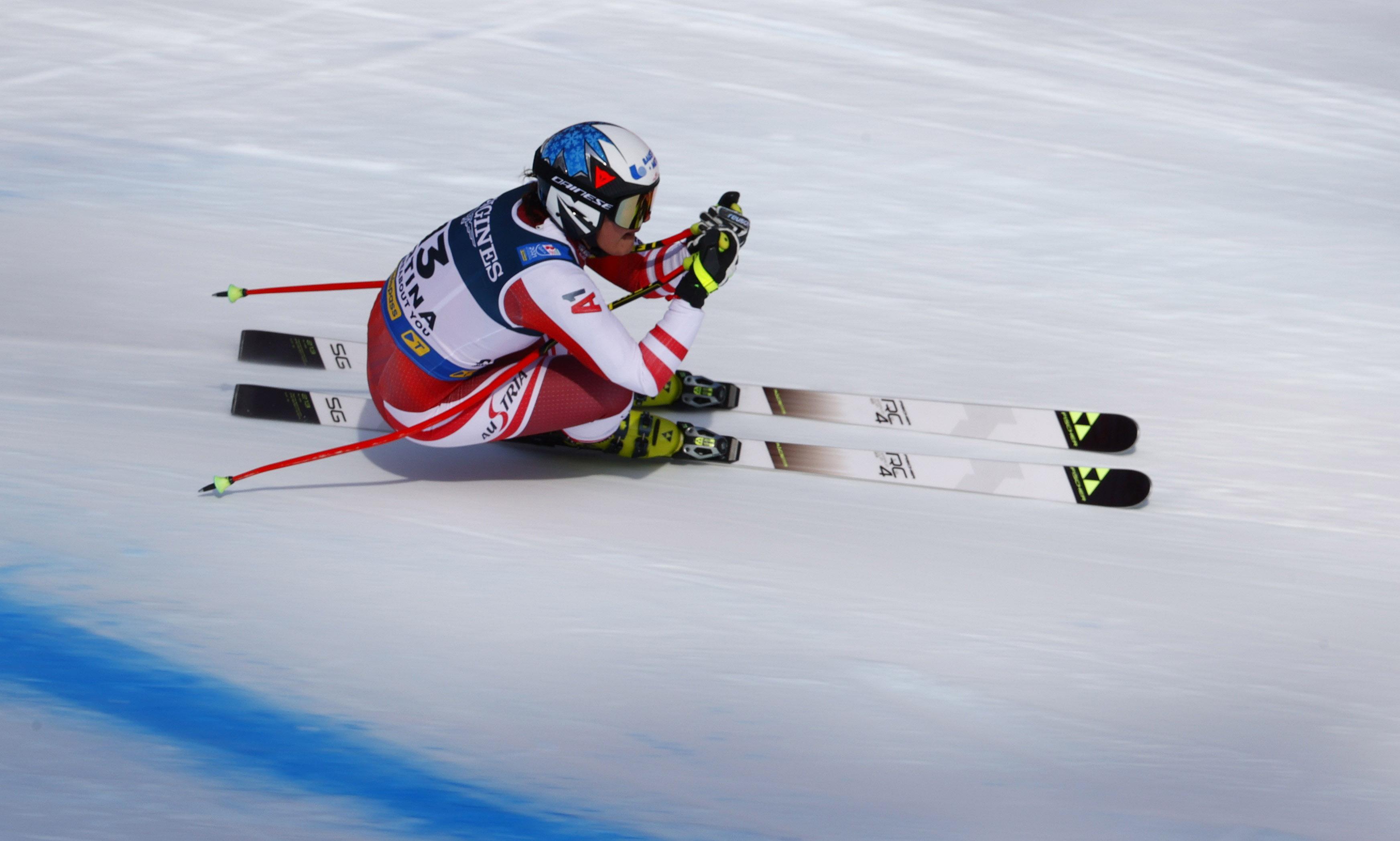 Siebenhofer Zweitschnellste im Training in Val di Fassa