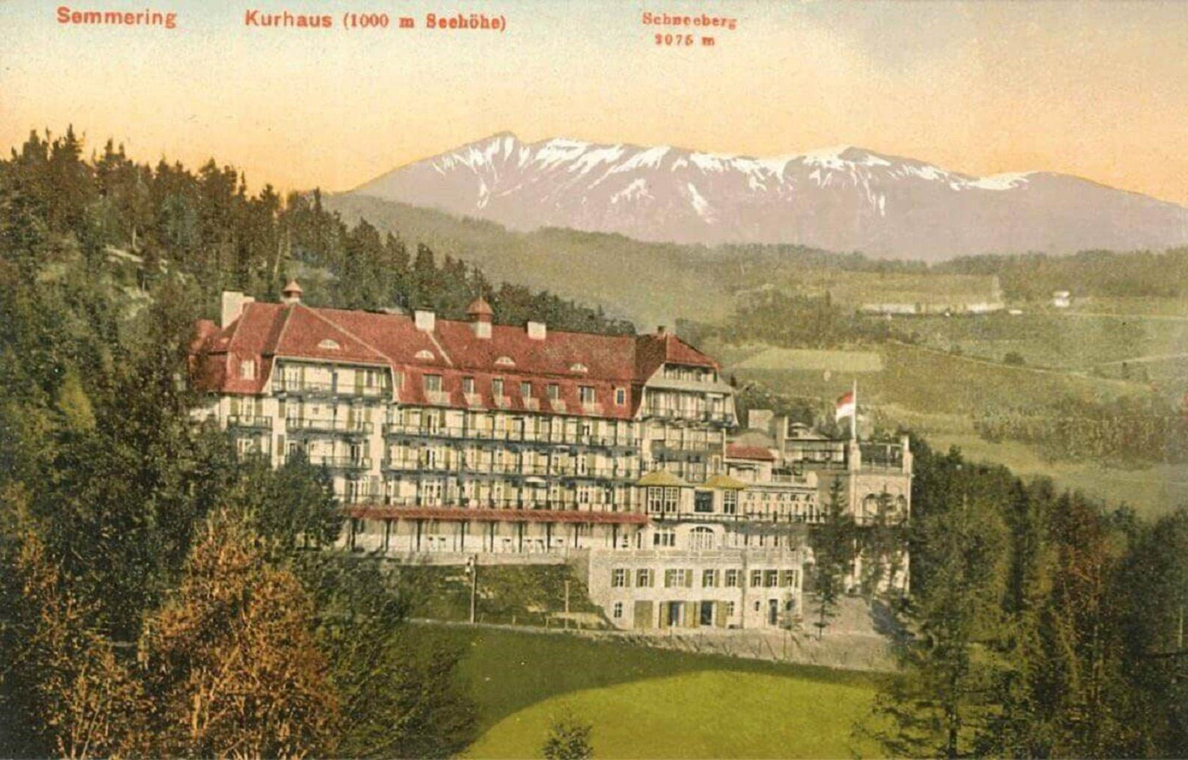Baujuwelen, Bausünden: Kurhaus Semmering erhält Strahlkraft