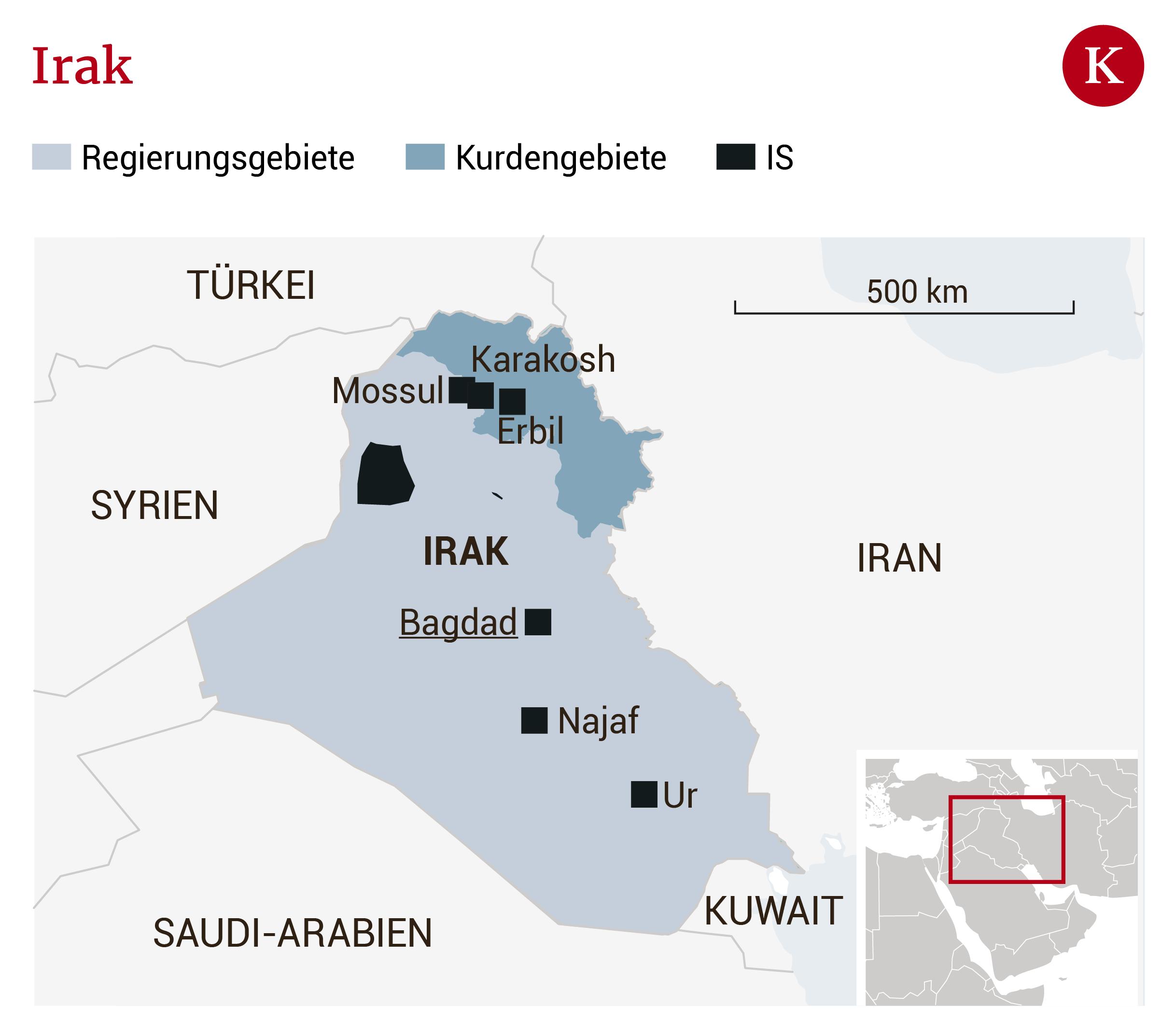 Terror und Corona: Brisanter Papstbesuch im Irak