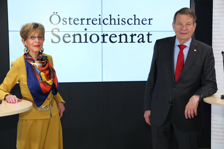 Pressekonferenz des Österreichischen Seniorenrates