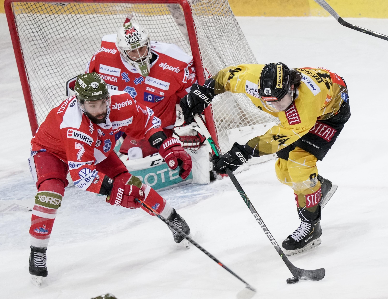 Eishockey, Vienna Capitals - Suedtirol Bozen