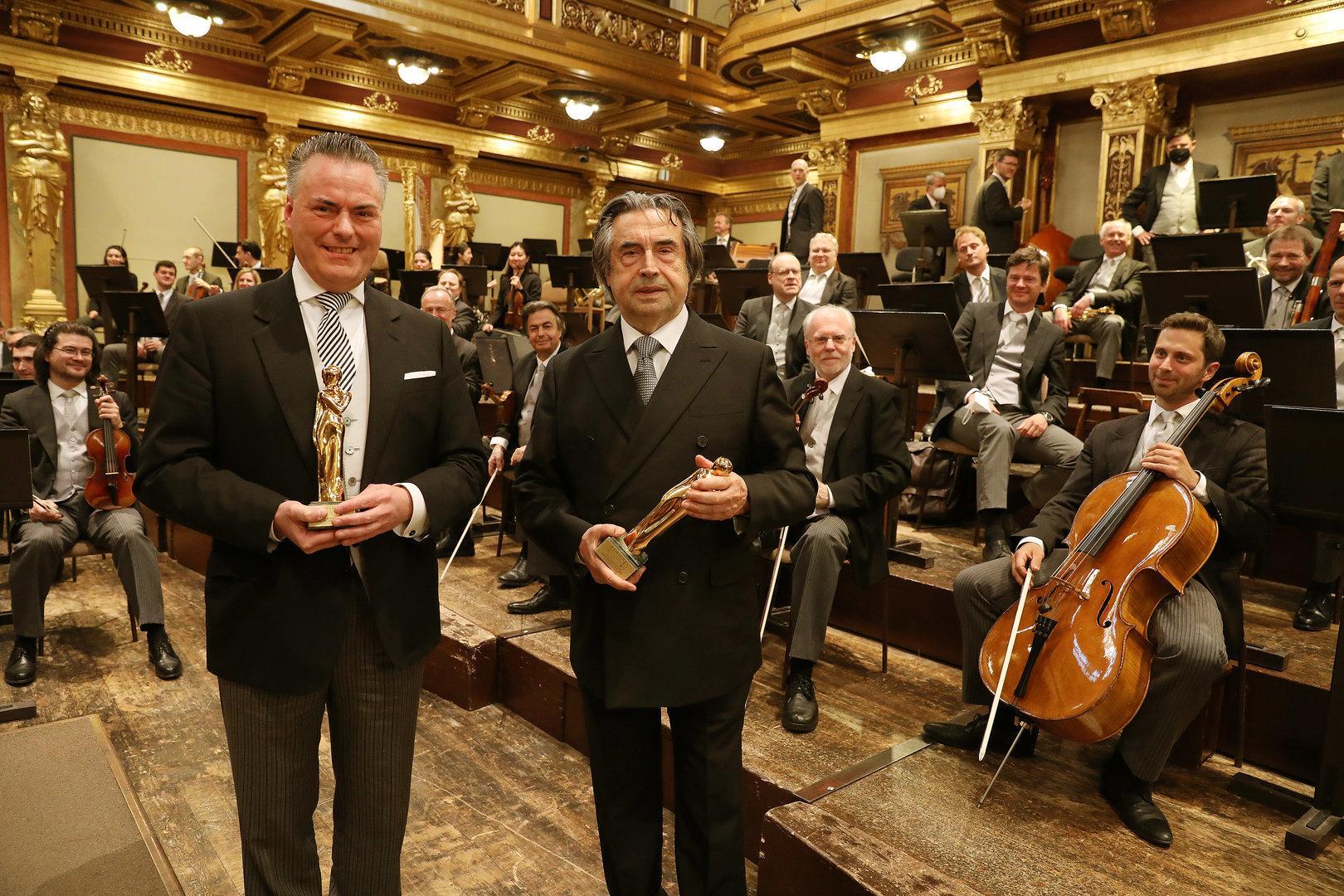 """ROMY 2021: Stardirigent Riccardo Muti - """"Ohne Bildung gibt es nur Barbarei"""""""