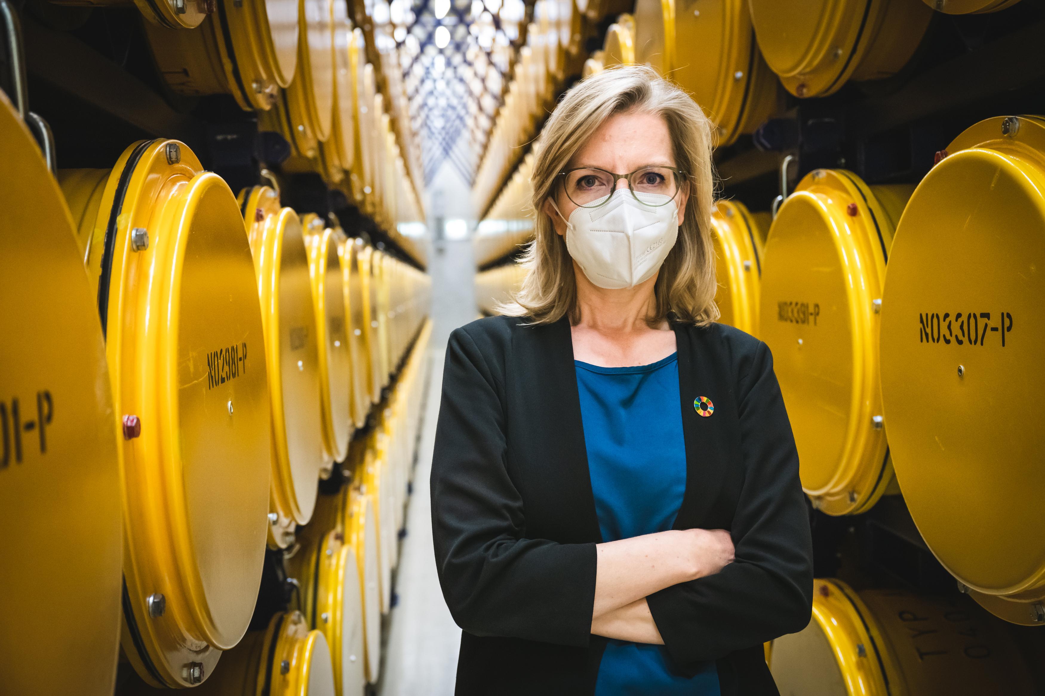 Umweltministerin Gewessler sucht Endlager für unseren Atommüll