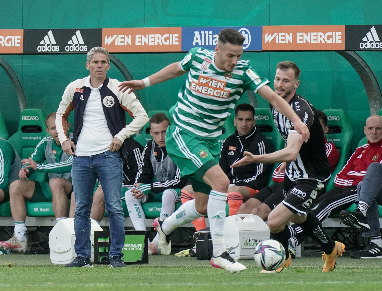 Fußball, SK Rapid Wien - LASK