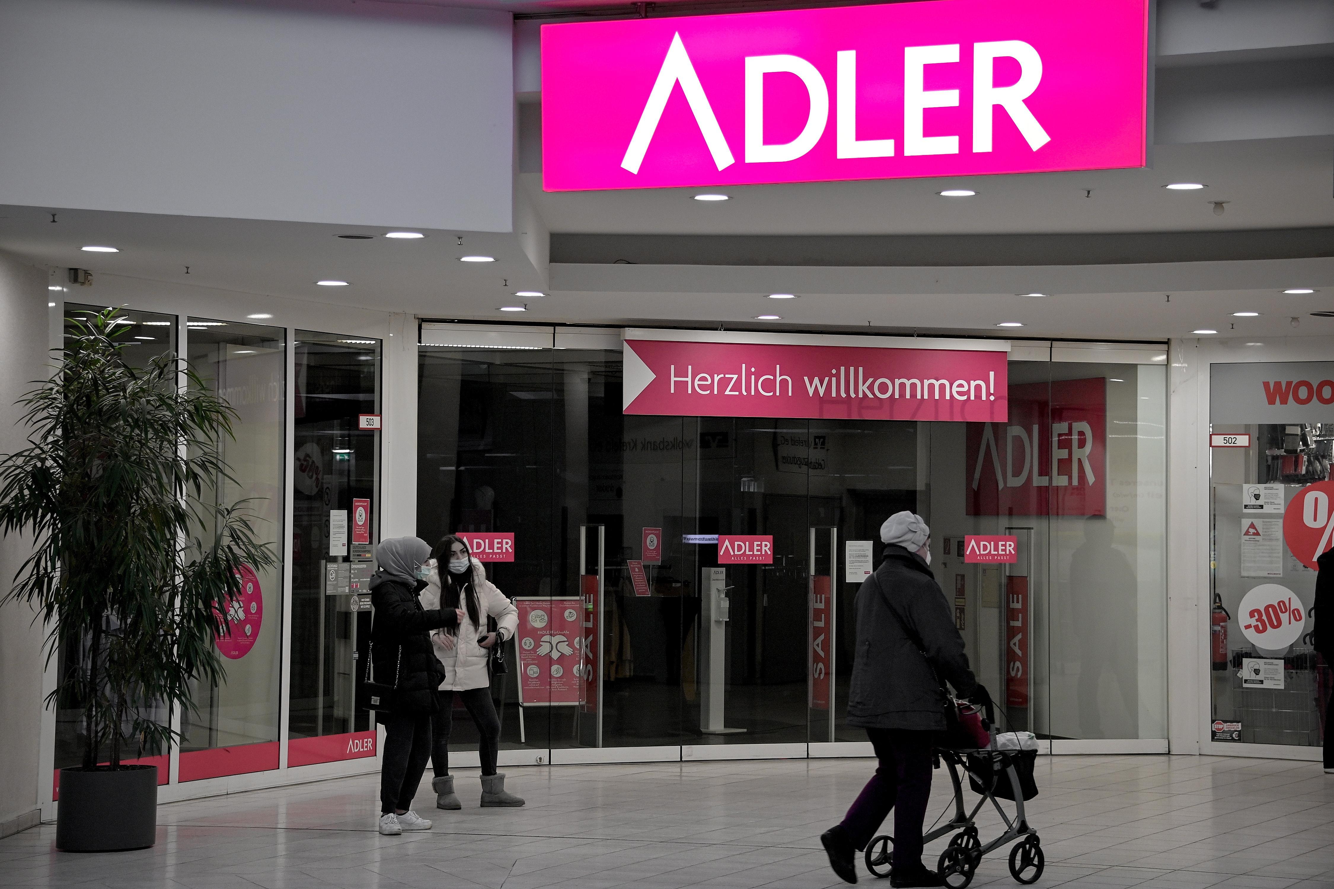 Insolvente Adler Mode vor Verkauf an Logistiker Zeitfracht