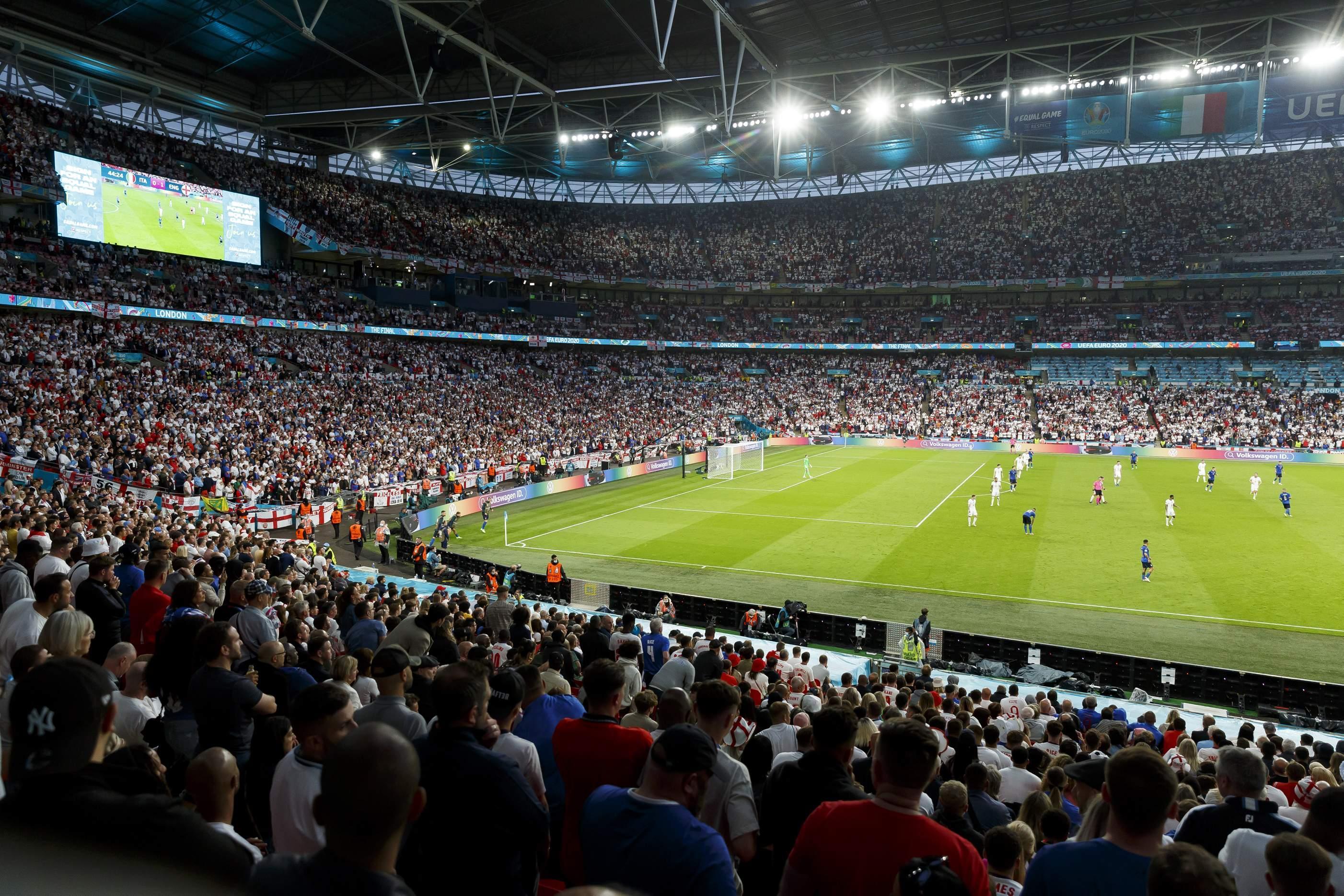 Italien vs. England - UEFA-Europameisterschaft 2020 - Finale