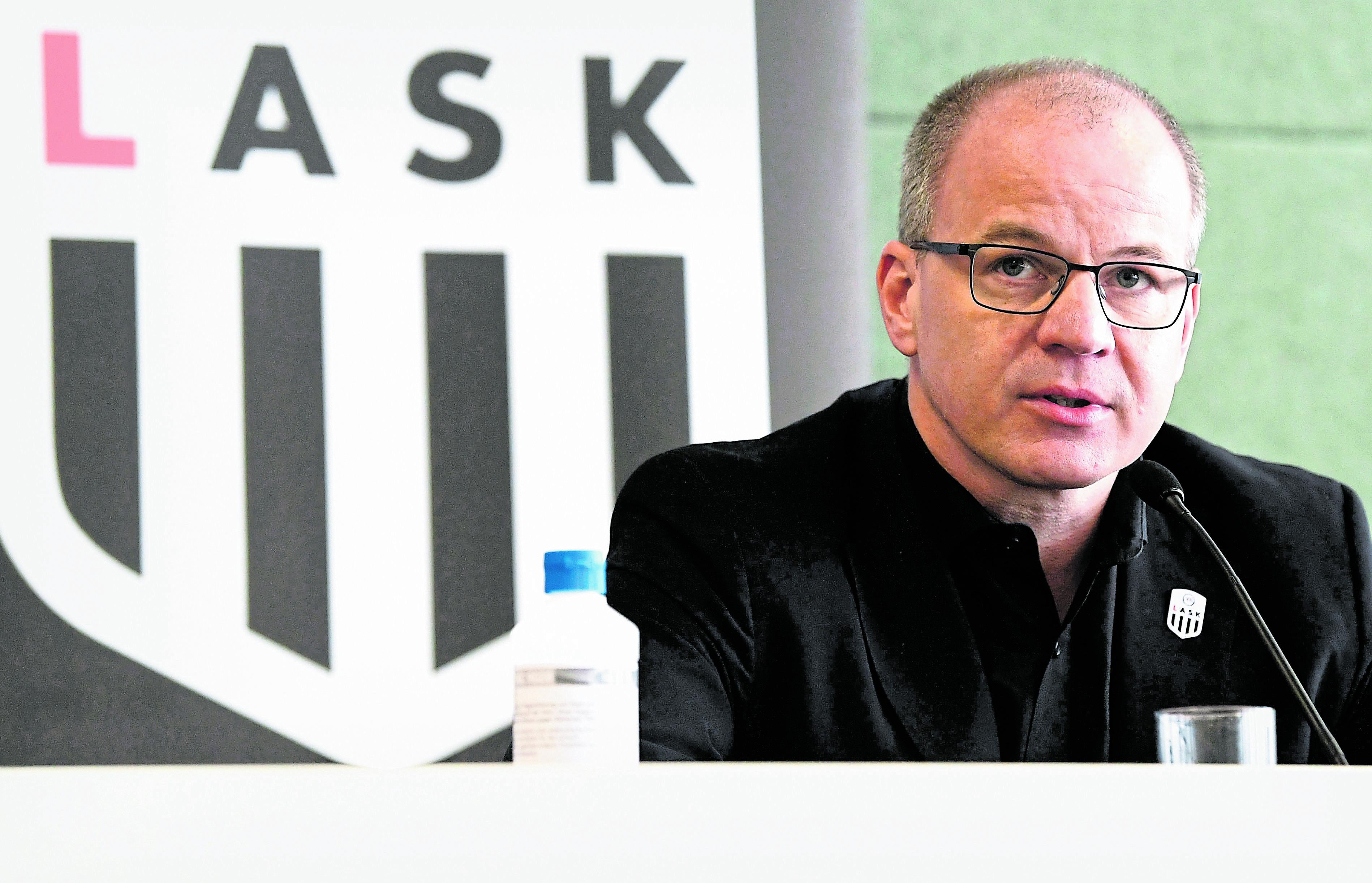 OBERÖSTERREICH: PK FUSSBALL-BUNDESLIGIST LASK: GRUBER