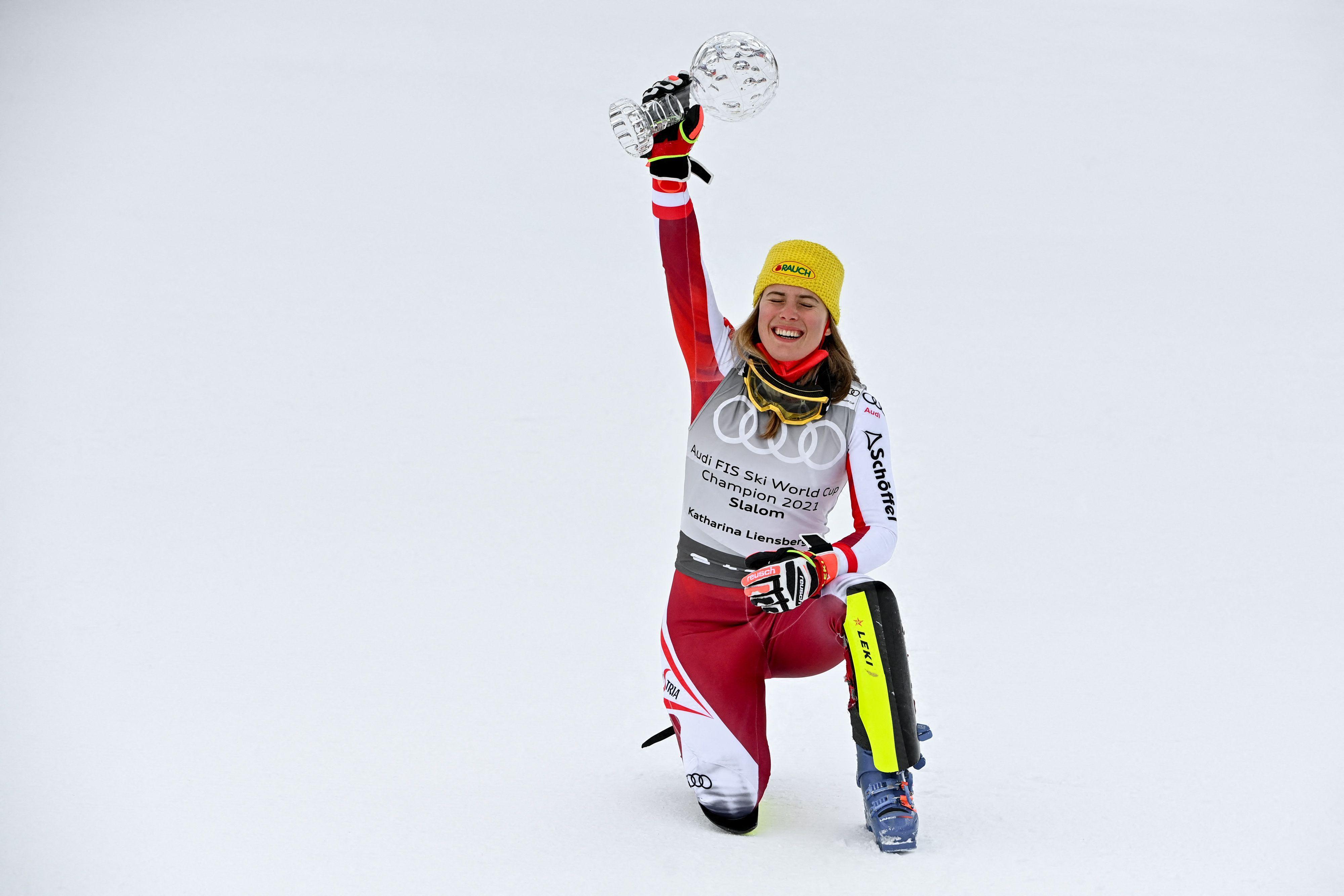"""Ski-Star Katharina Liensberger: """"Ich habe vieles richtig gemacht"""""""