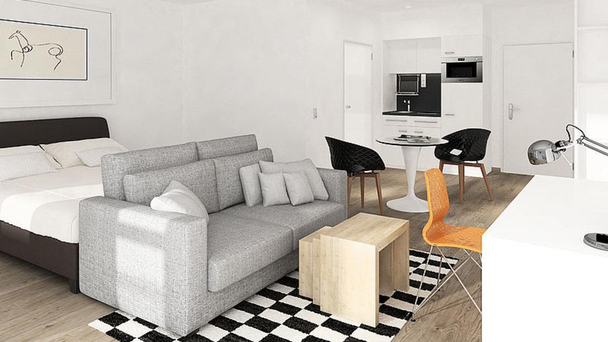 alles inklusive so wohnen studenten. Black Bedroom Furniture Sets. Home Design Ideas